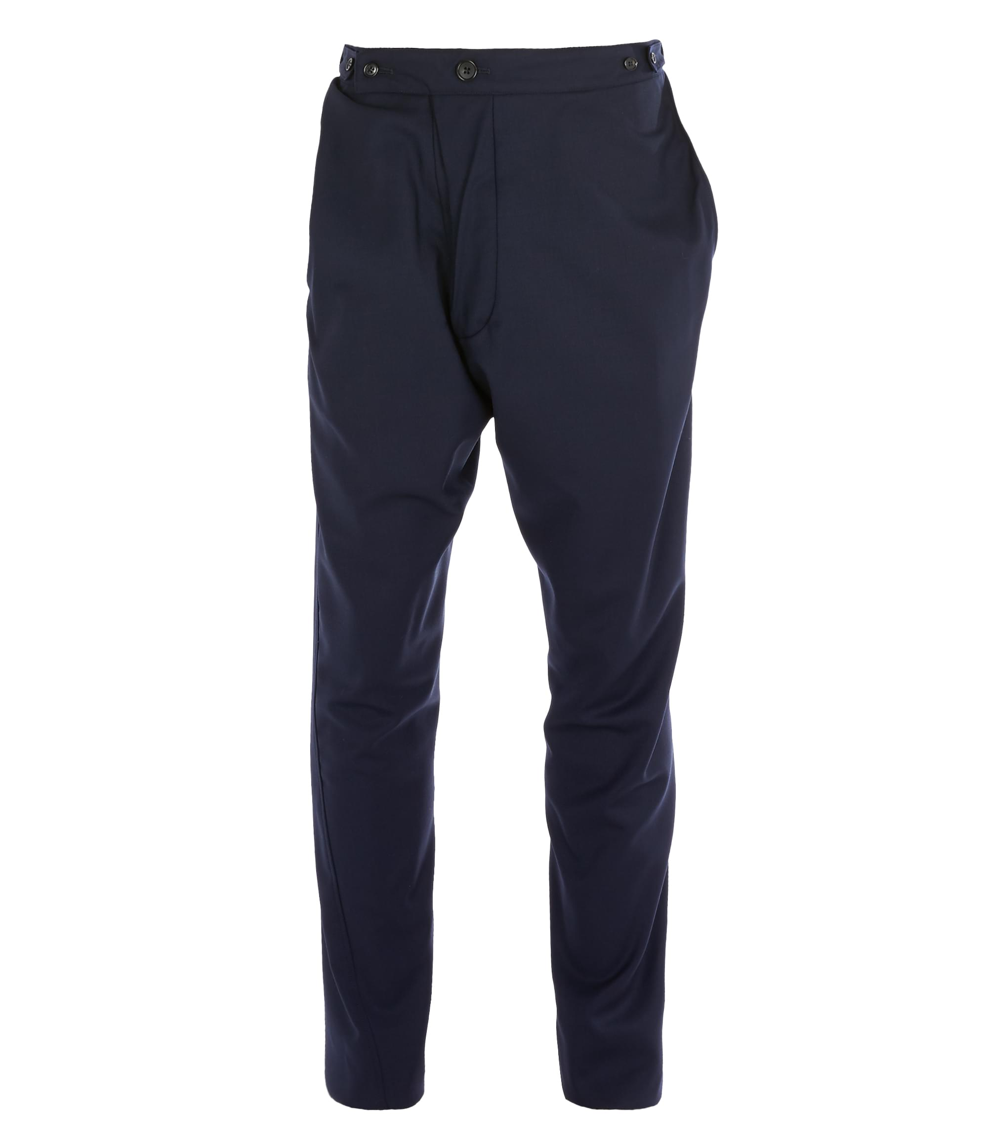 Vivienne Westwood Alcoholic Trousers Navy