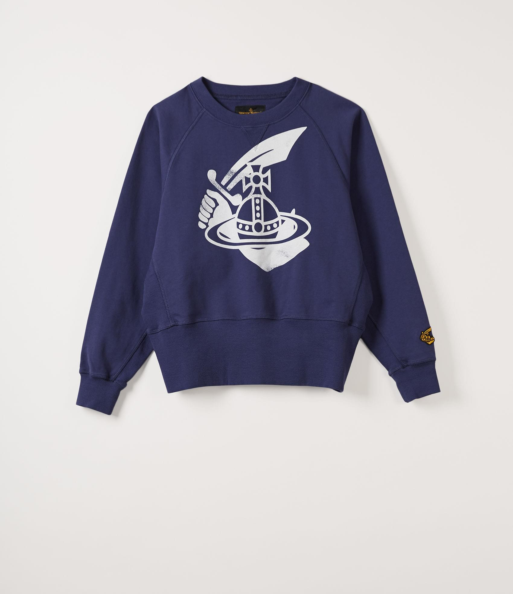 Vivienne Westwood ATHLETIC SWEATSHIRT NAVY