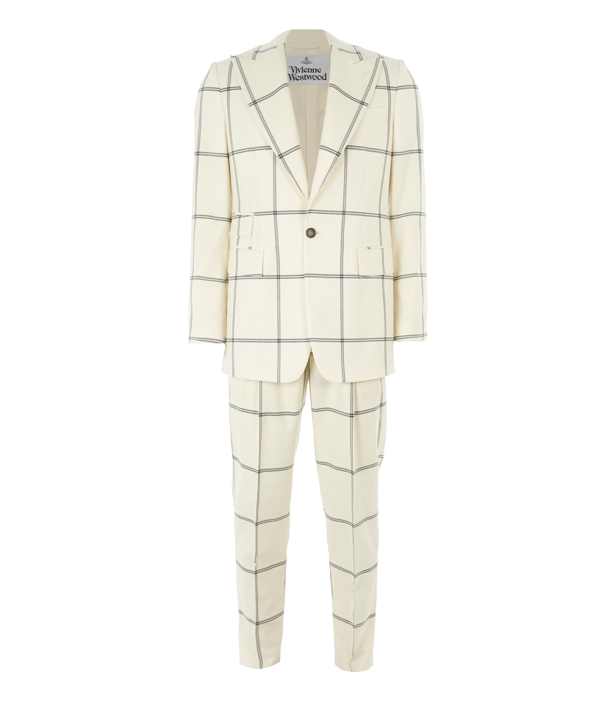 Vivienne Westwood Bayonet Suit White Check