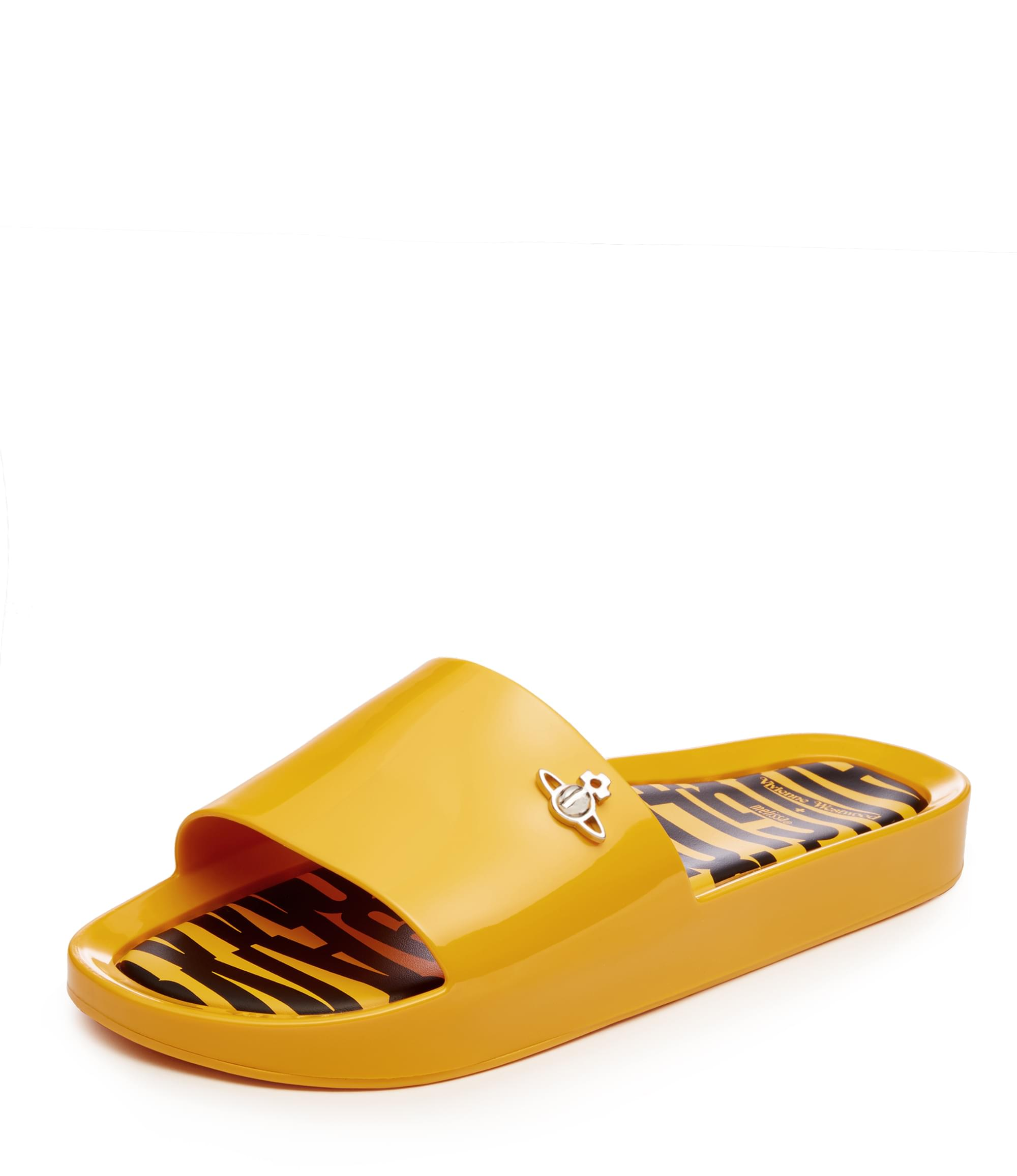 Vivienne Westwood Beach Slides Yellow