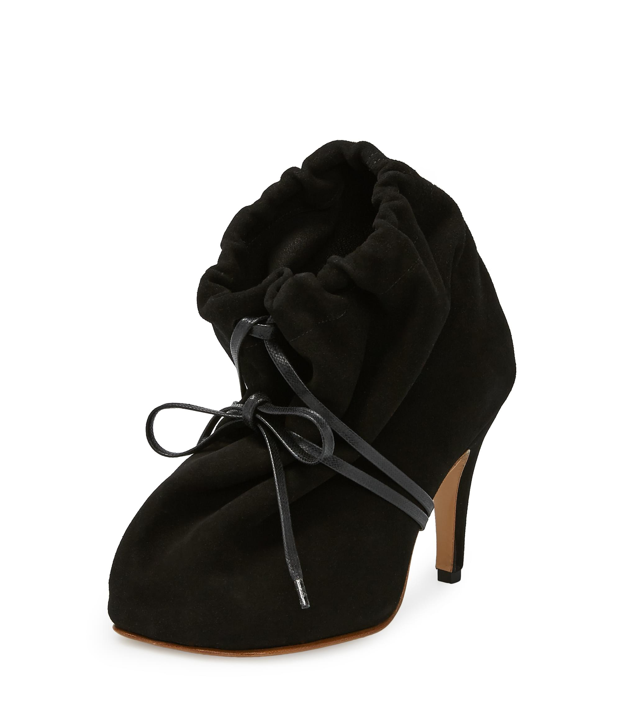 Vivienne Westwood Black Animal Sack Stiletto