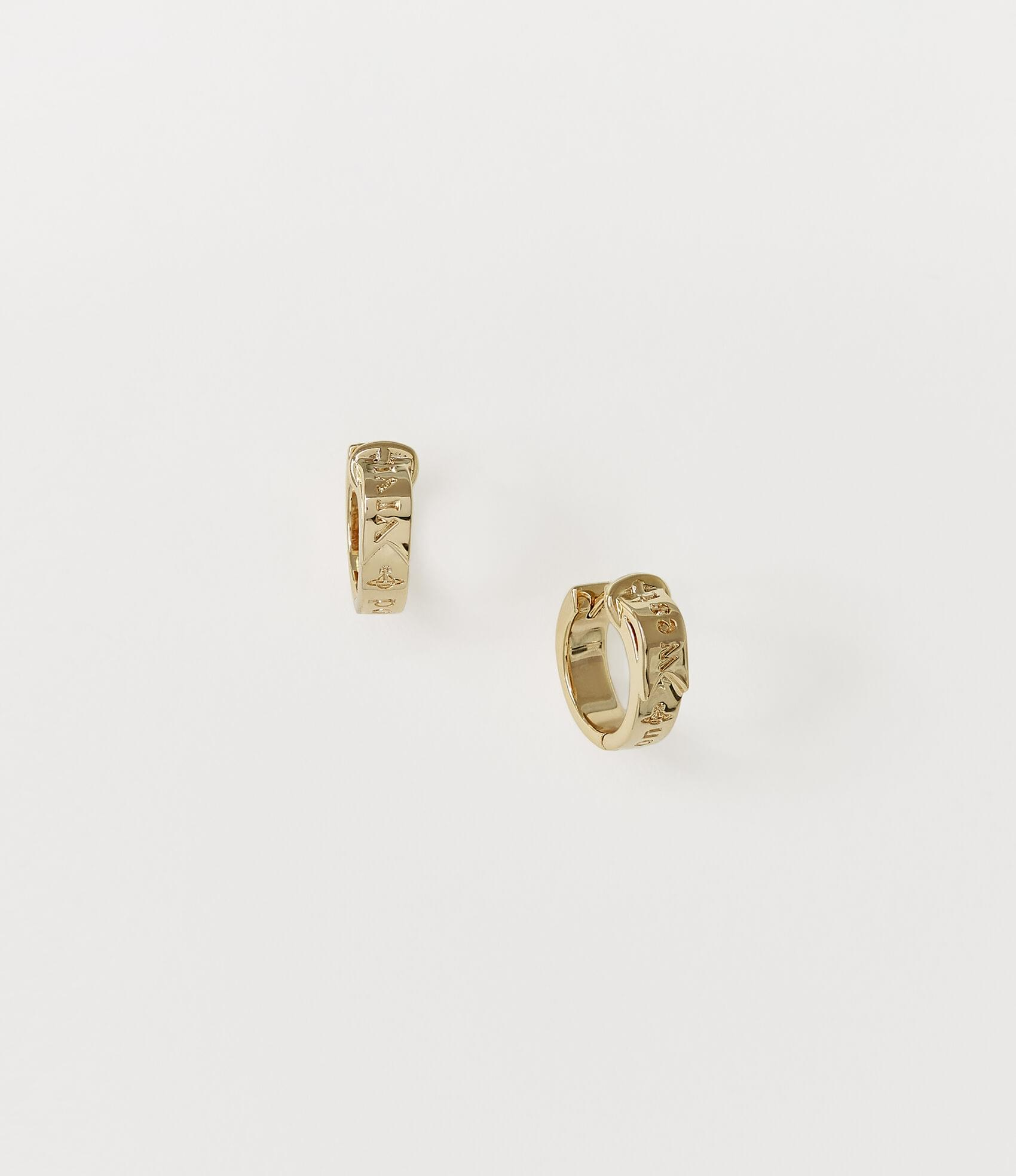 Vivienne Westwood BOBBY EARRINGS GOLD TONE