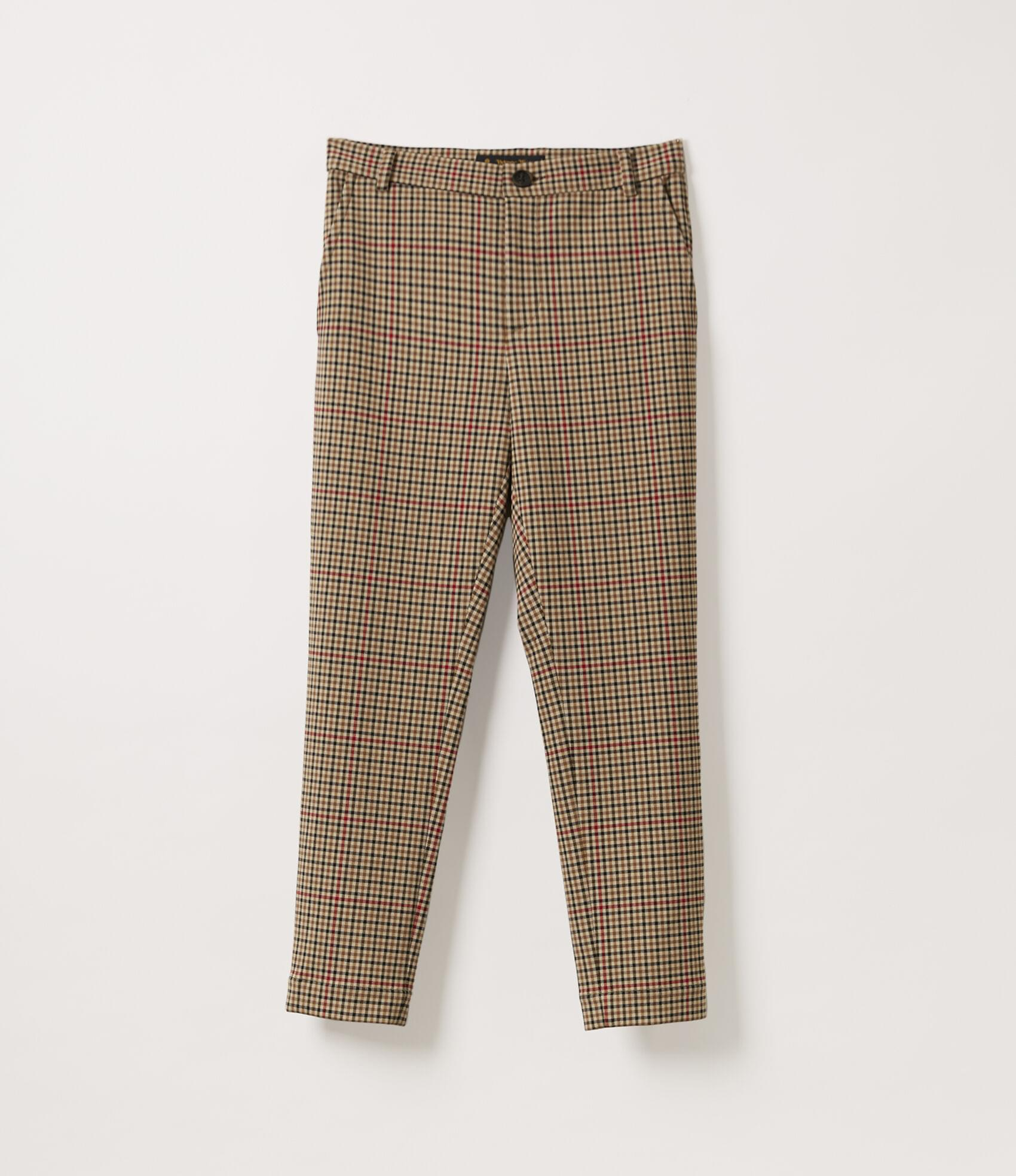 Vivienne Westwood BOY TROUSERS PEASANT CHECK