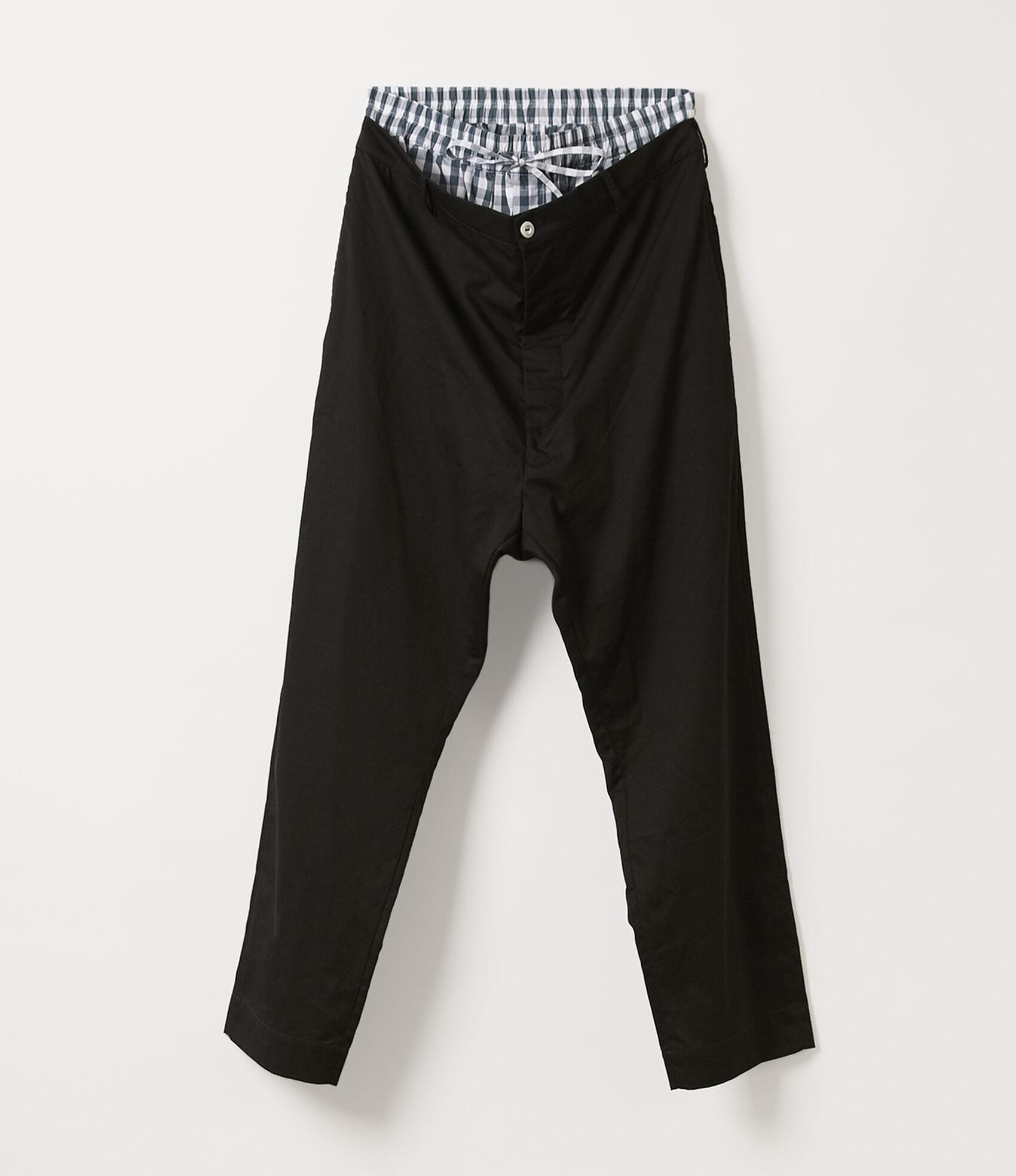 Vivienne Westwood BUILDER TROUSERS BLACK