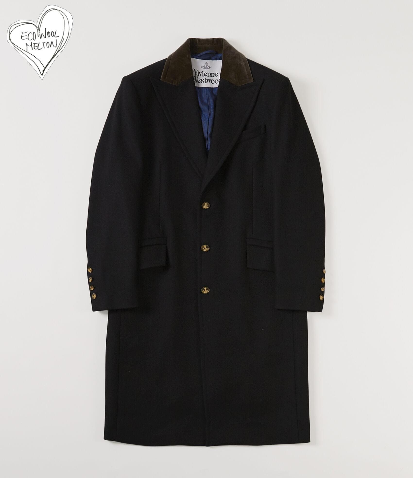 Vivienne Westwood CASTLE COAT BLACK