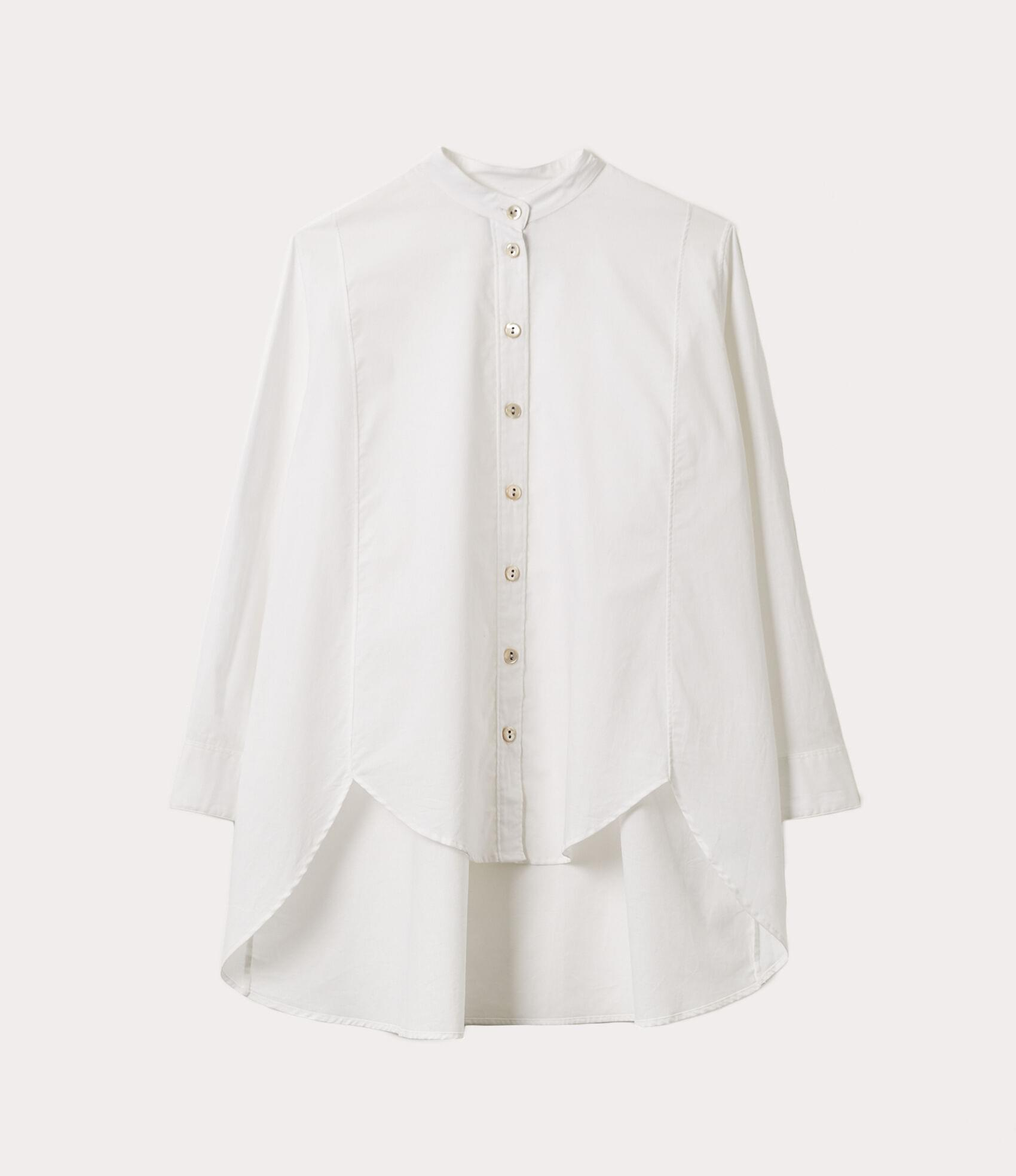 Vivienne Westwood CIRCLE SHIRT OPTICAL WHITE
