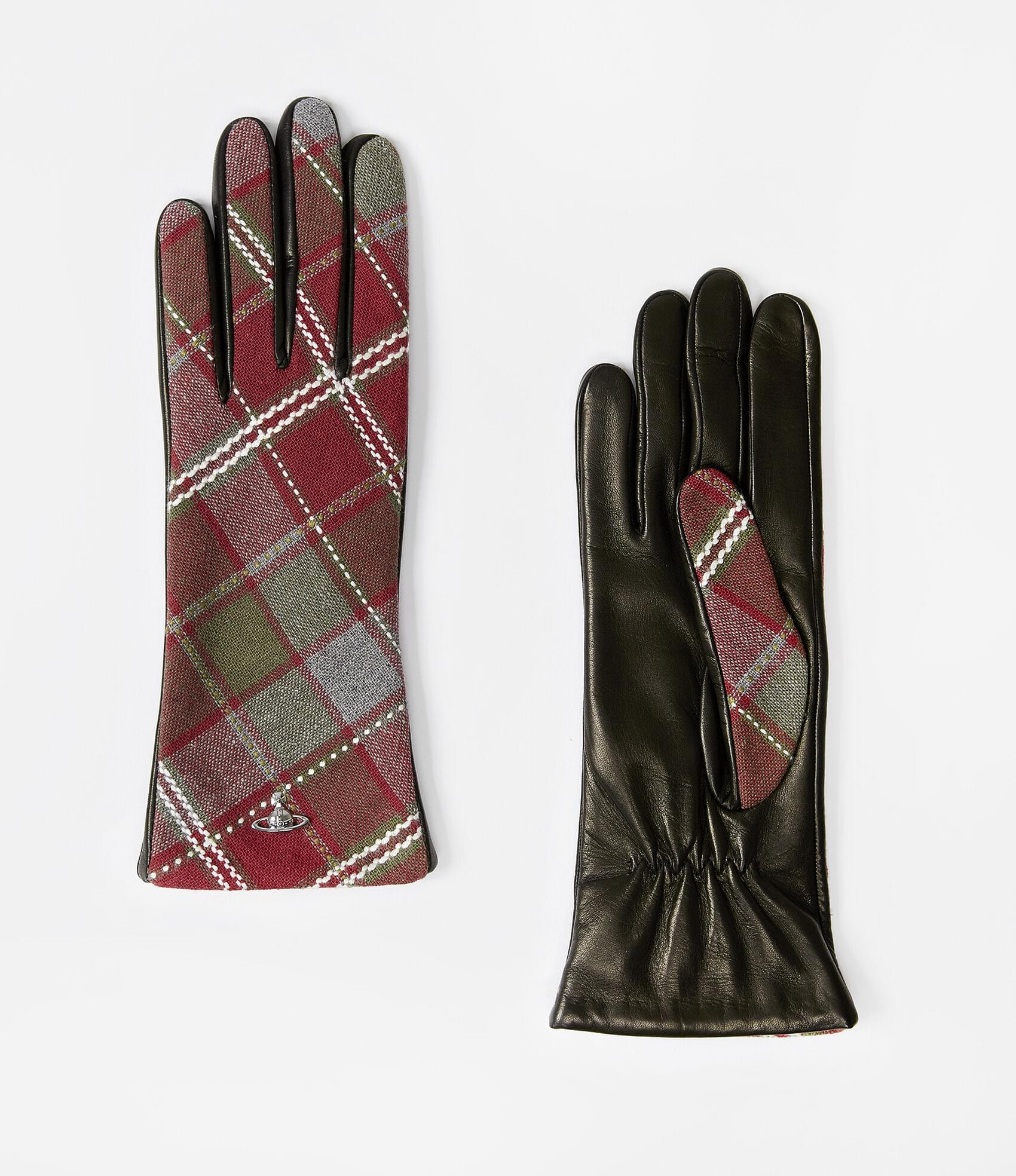 Vivienne Westwood CLASSIC LONG GLOVES RED/BLACK