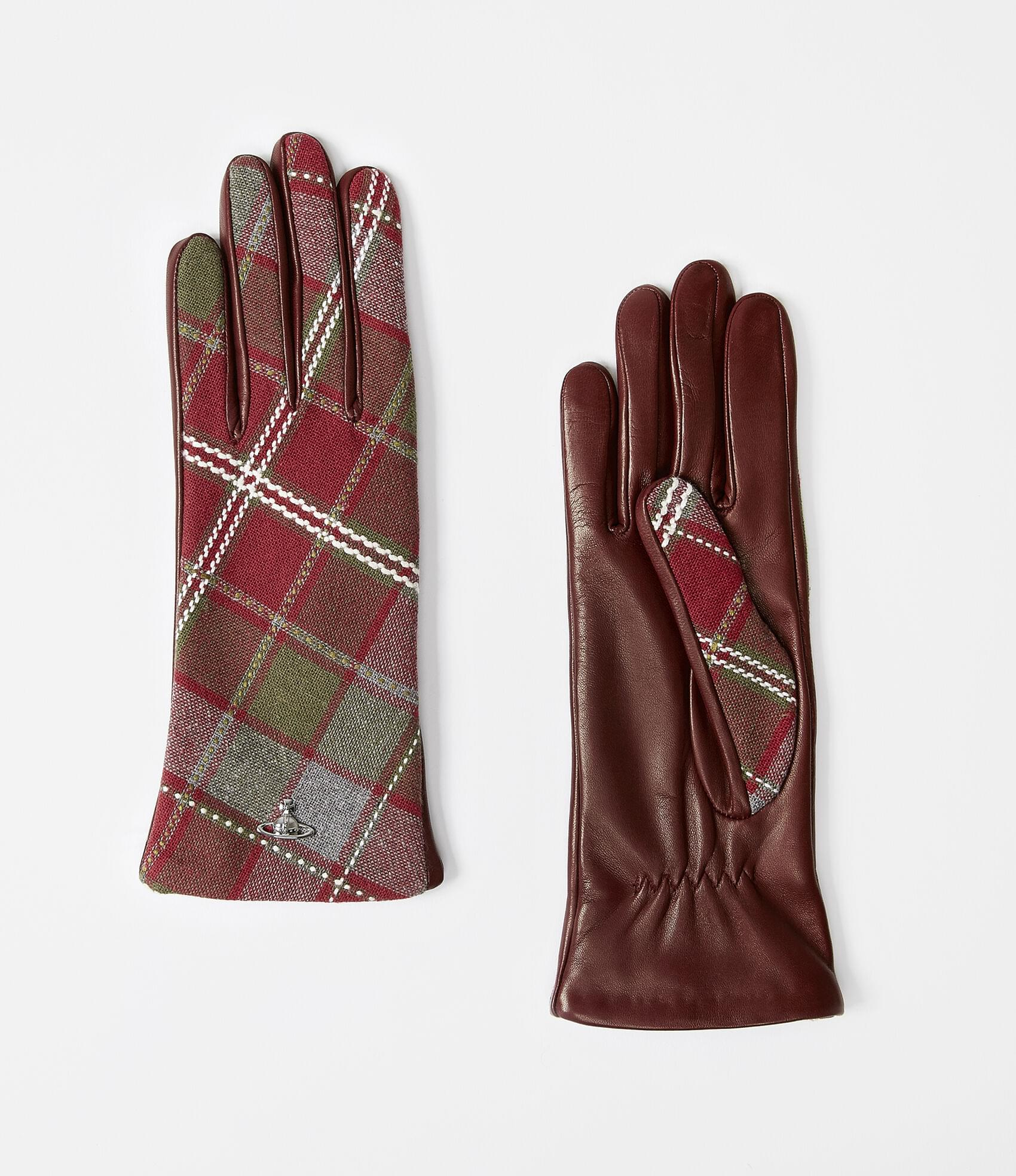 Vivienne Westwood CLASSIC LONG GLOVES RED/RED