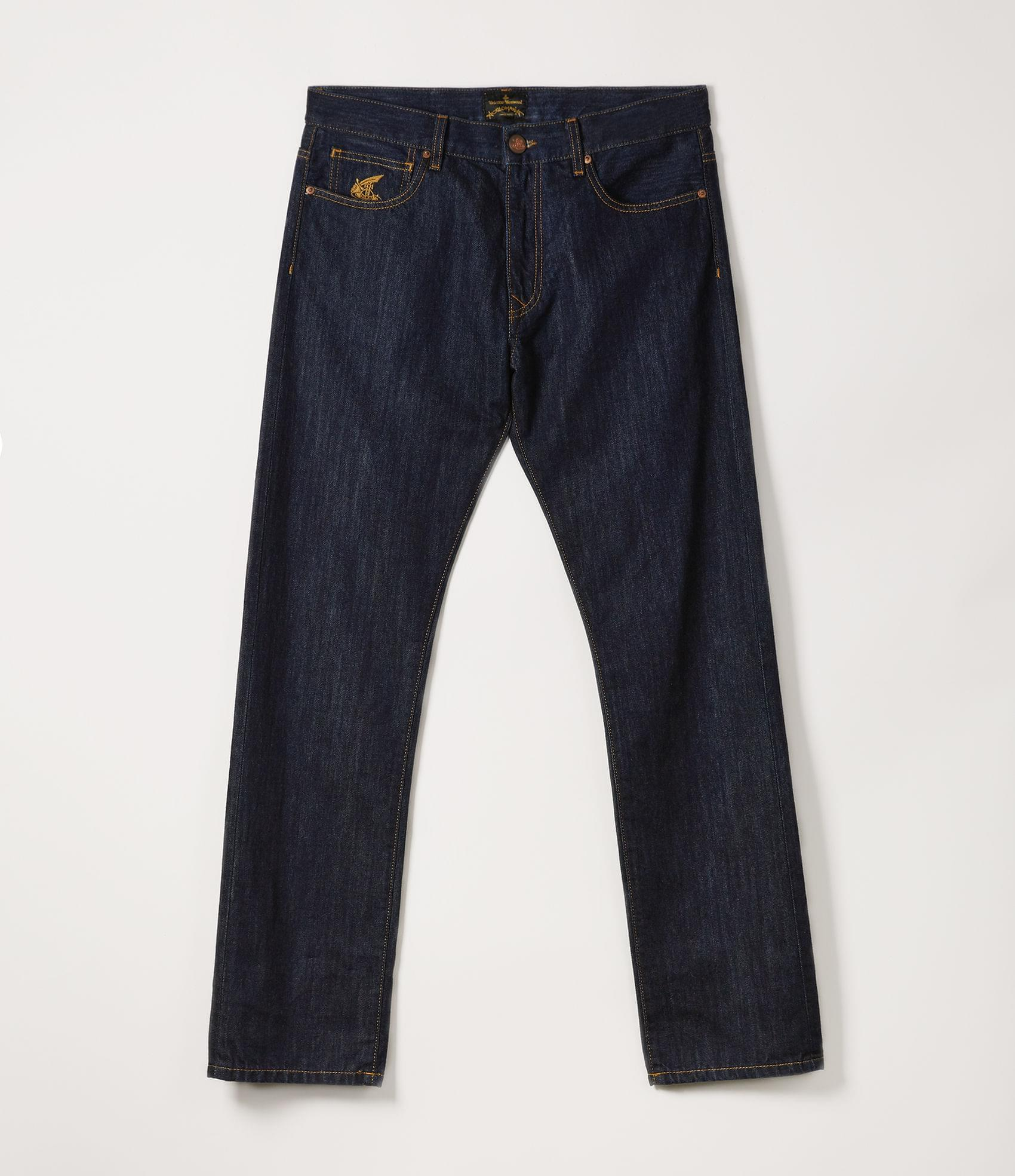 Vivienne Westwood CLASSIC TAPERED JEANS BLUE DENIM