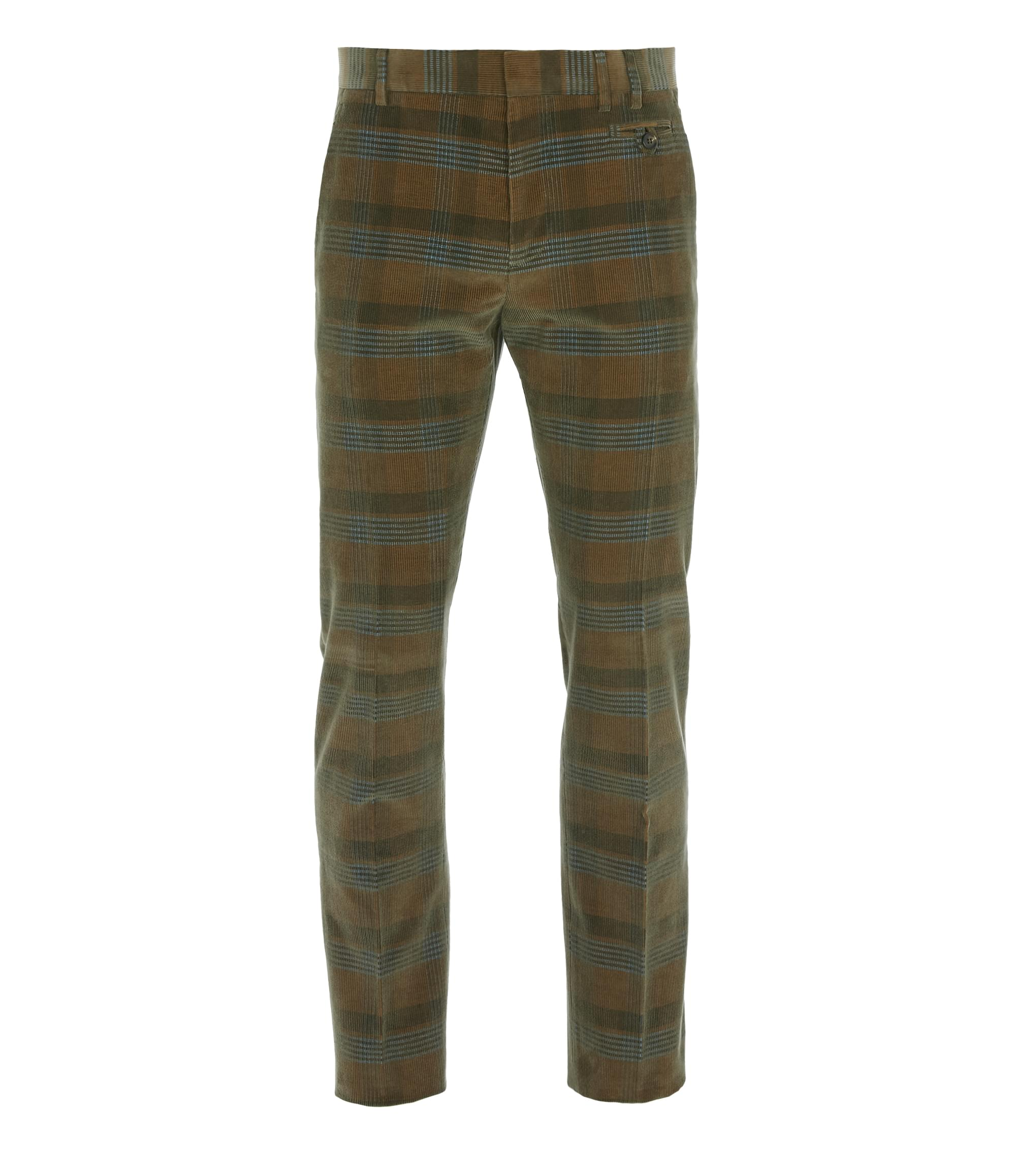 Vivienne Westwood Classic Trousers Brown Check