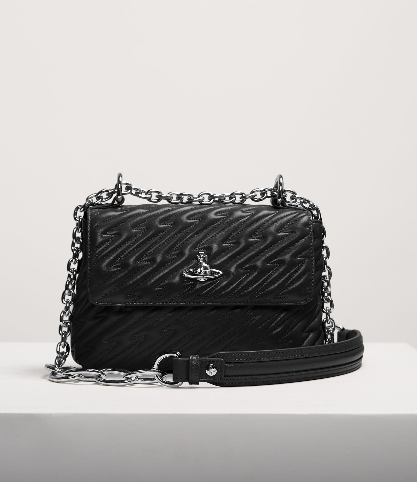 Vivienne Westwood COVENTRY MEDIUM HANDBAG BLACK