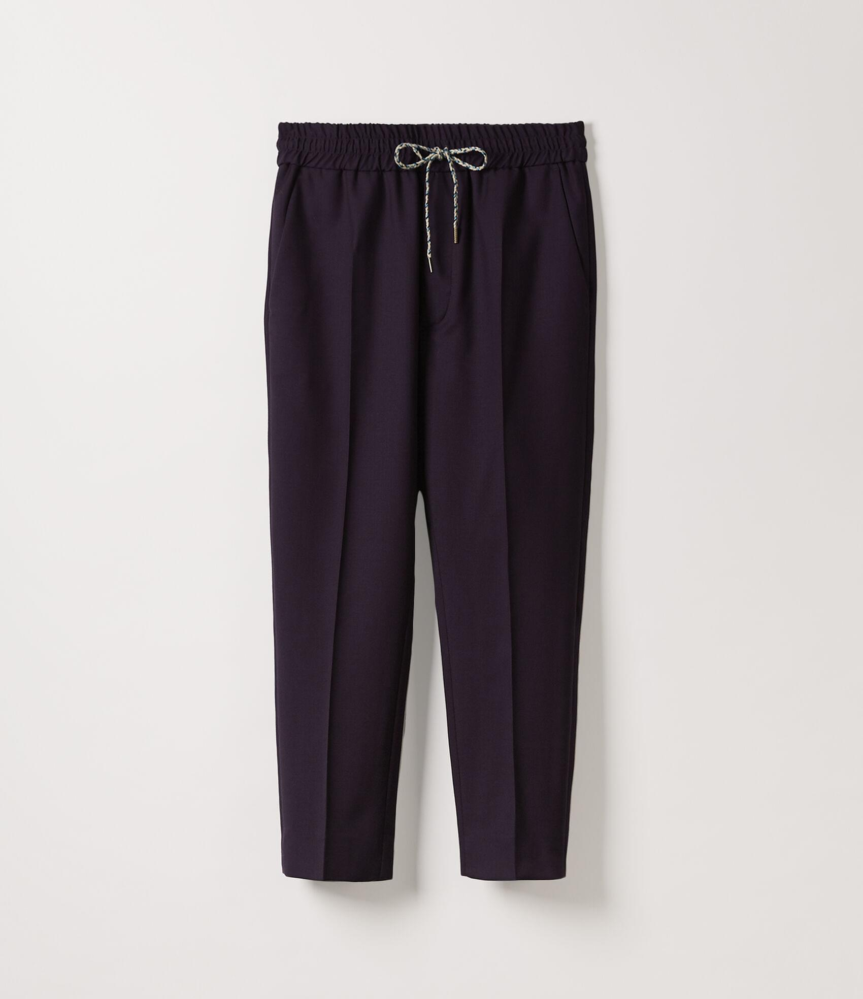 Vivienne Westwood ELASTIC CROPPED GEORGE TROUSERS DARK PURPLE