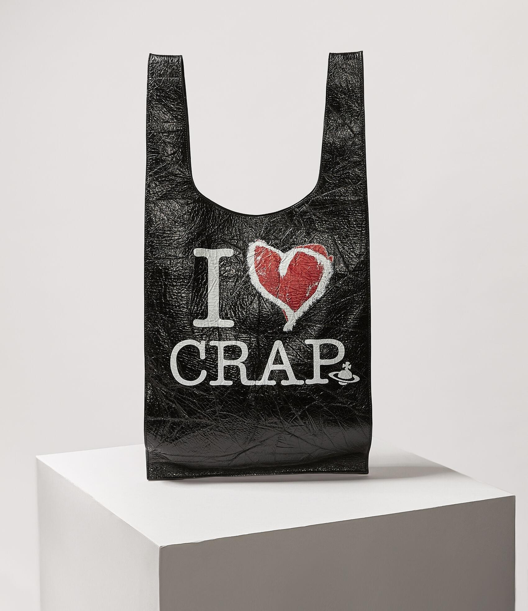 Vivienne Westwood I LOVE CRAP TOTE BAG