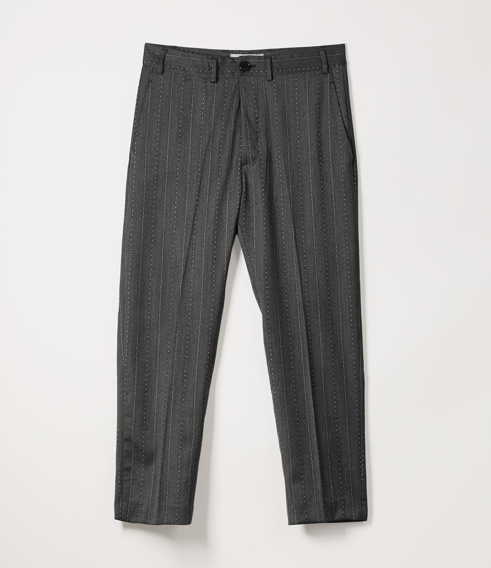 Vivienne Westwood JAMES BOND TROUSERS DOTTED PINSTRIPE