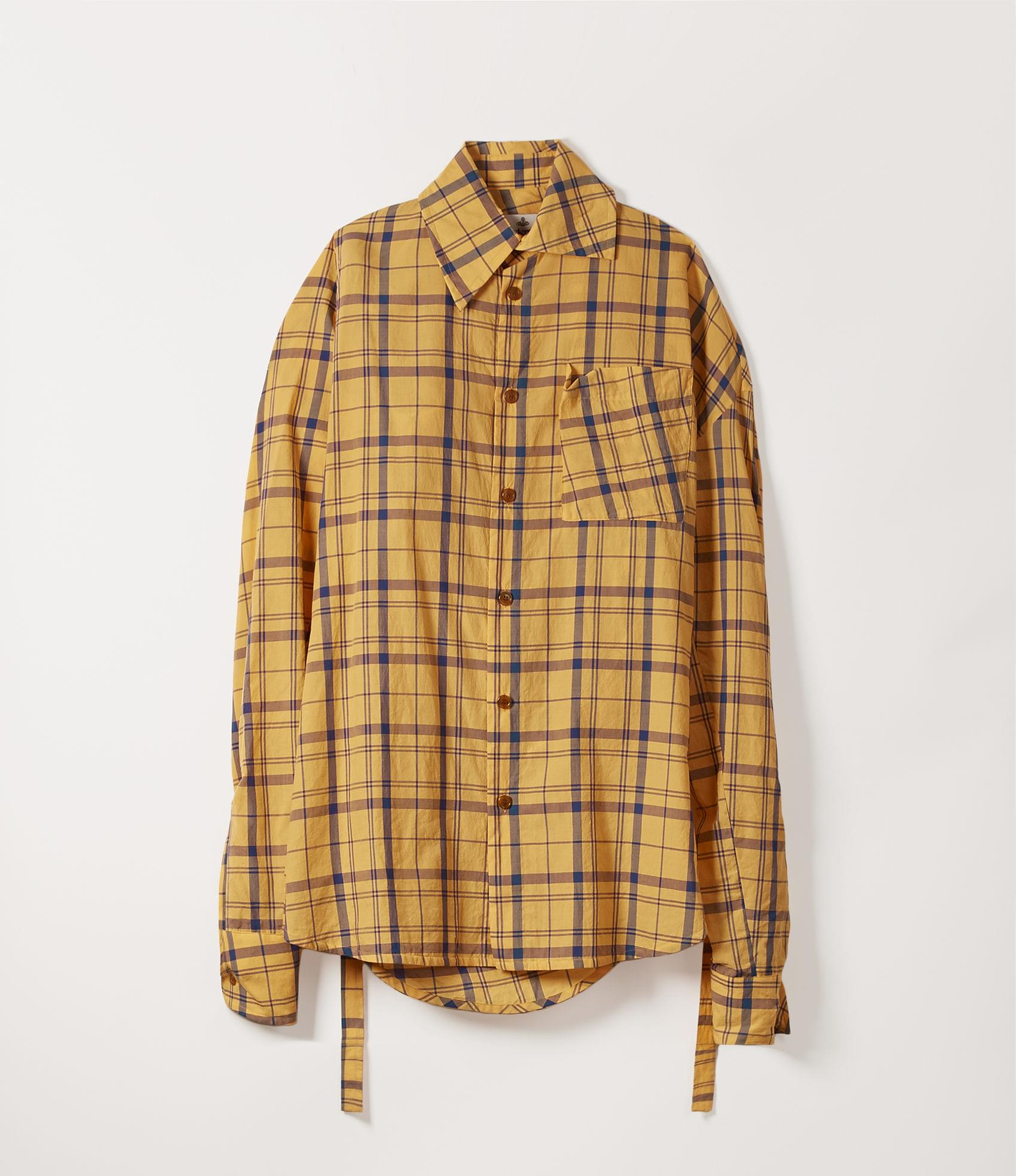 Vivienne Westwood LOTTIE SHIRT YELLOW TARTAN