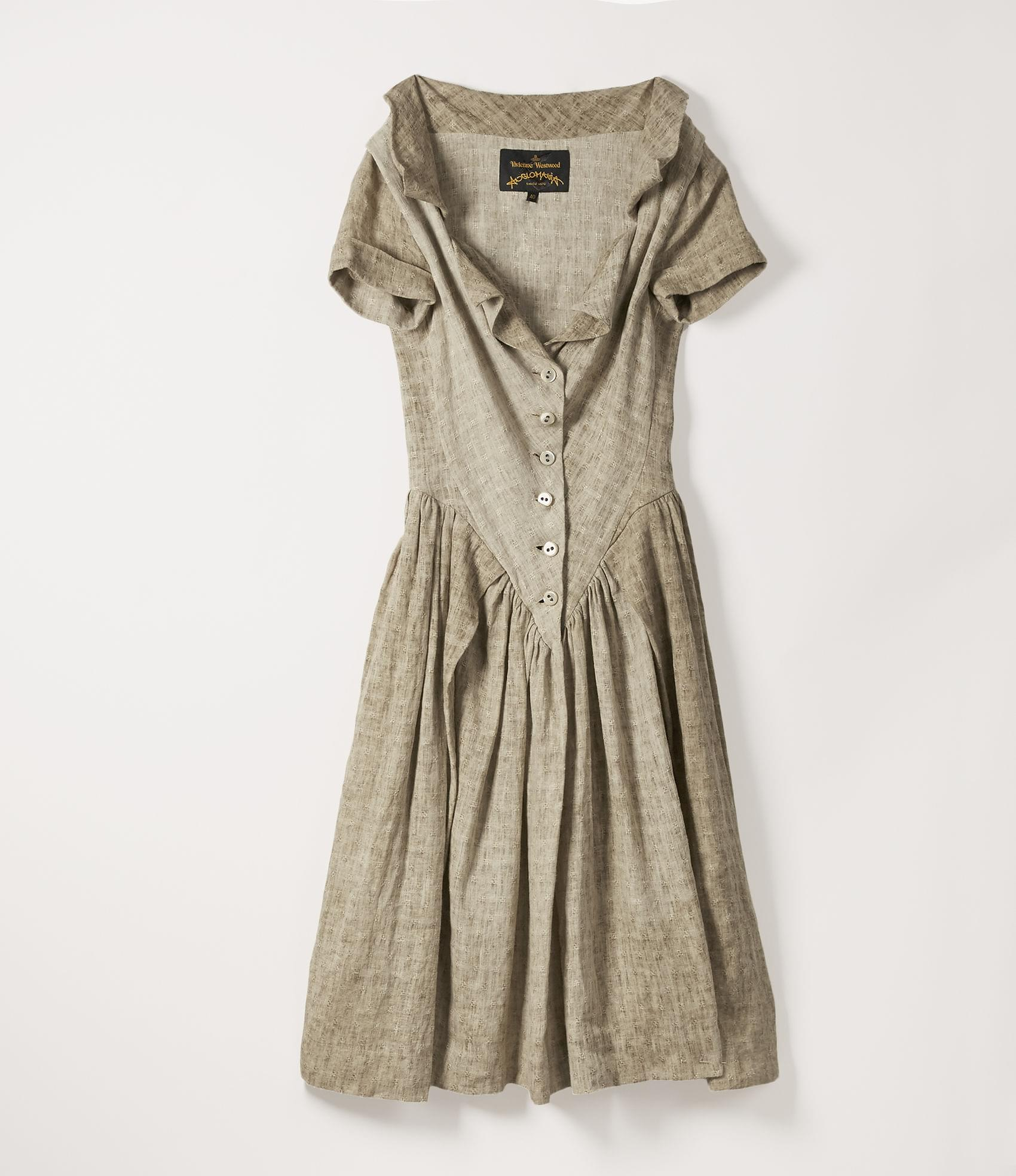 Vivienne Westwood MONDAY DRESS NATURAL