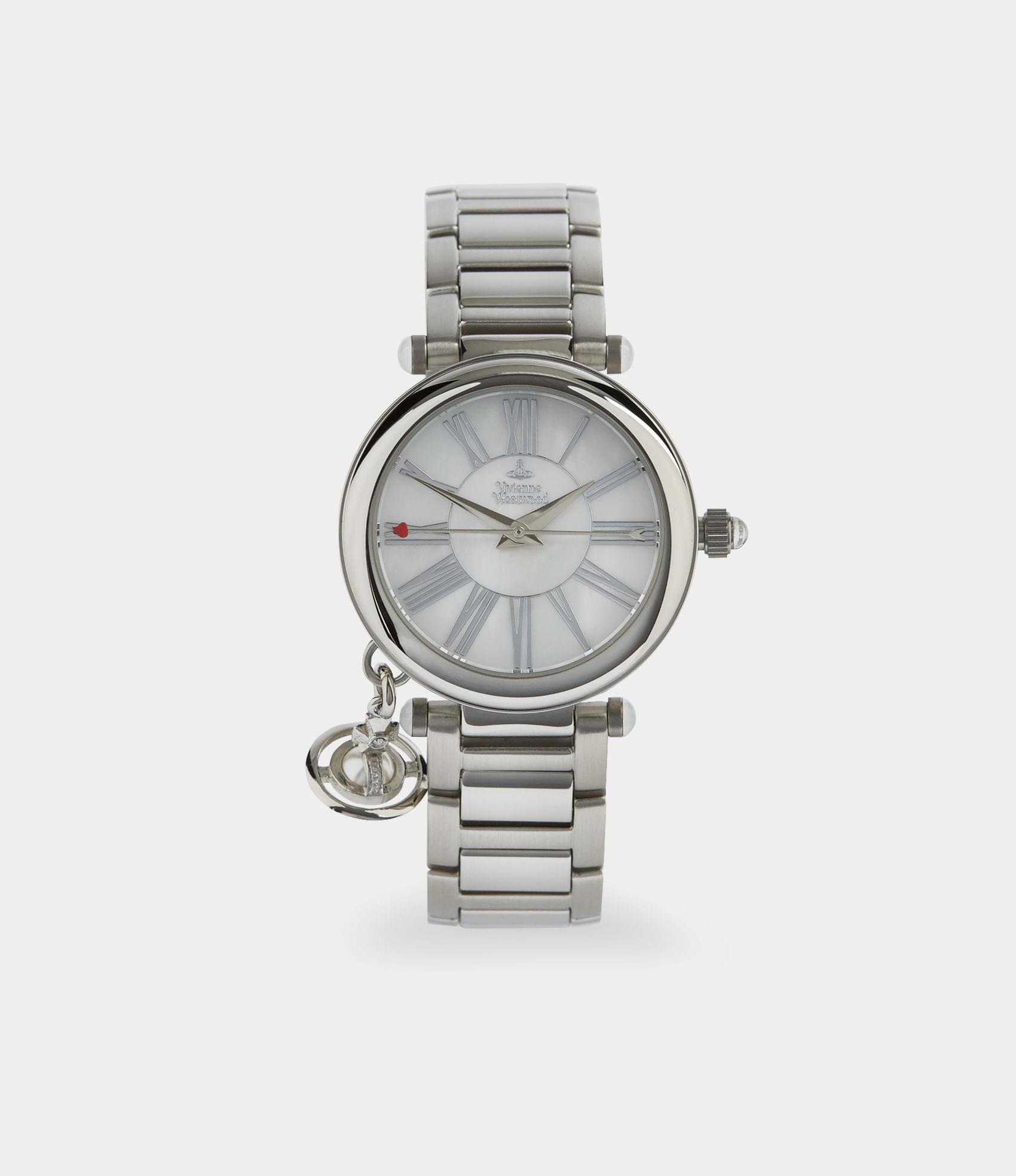 Vivienne Westwood MOTHER ORB WATCH SILVER