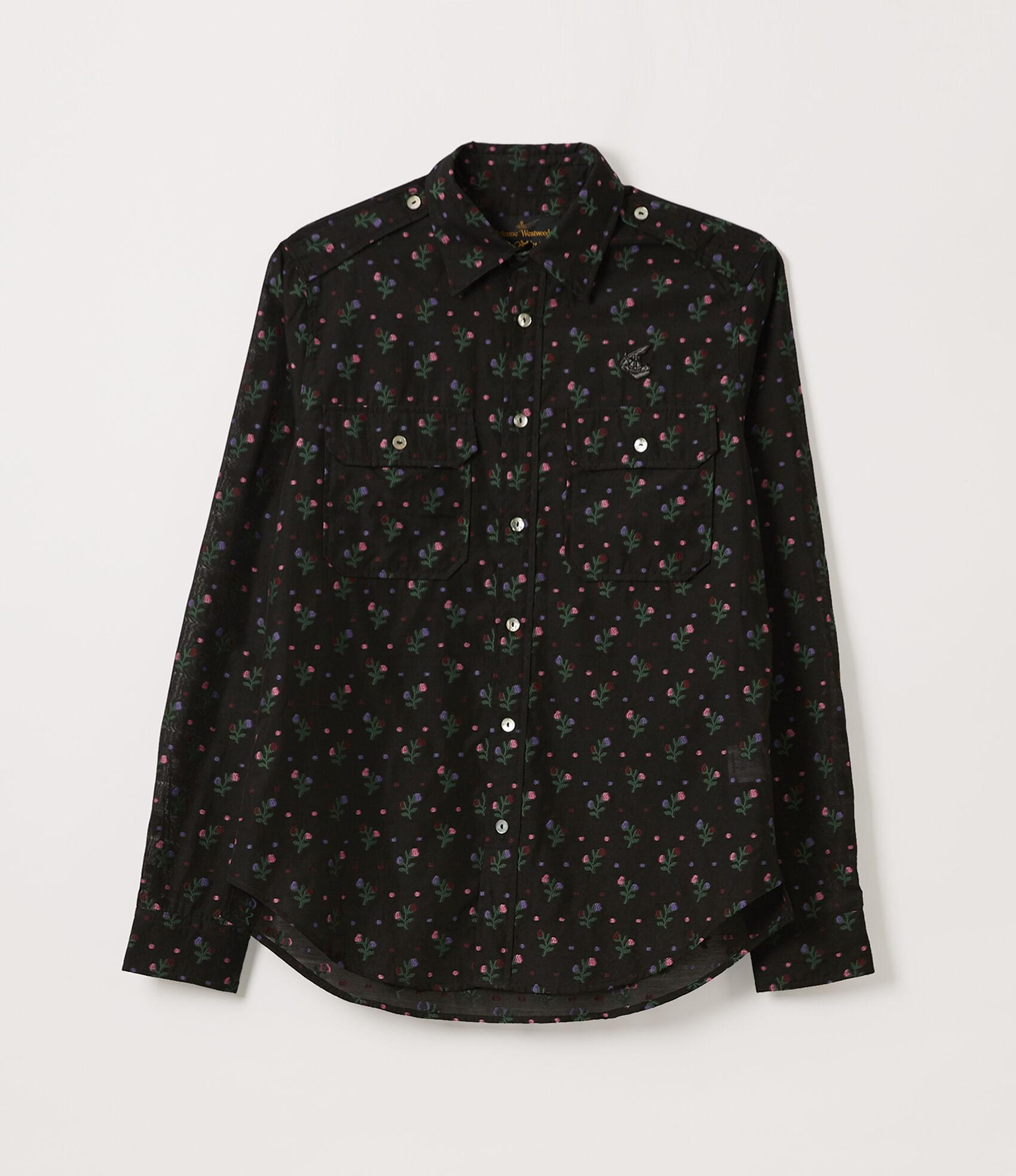 Vivienne Westwood NEW ARMY SHIRT BLACK