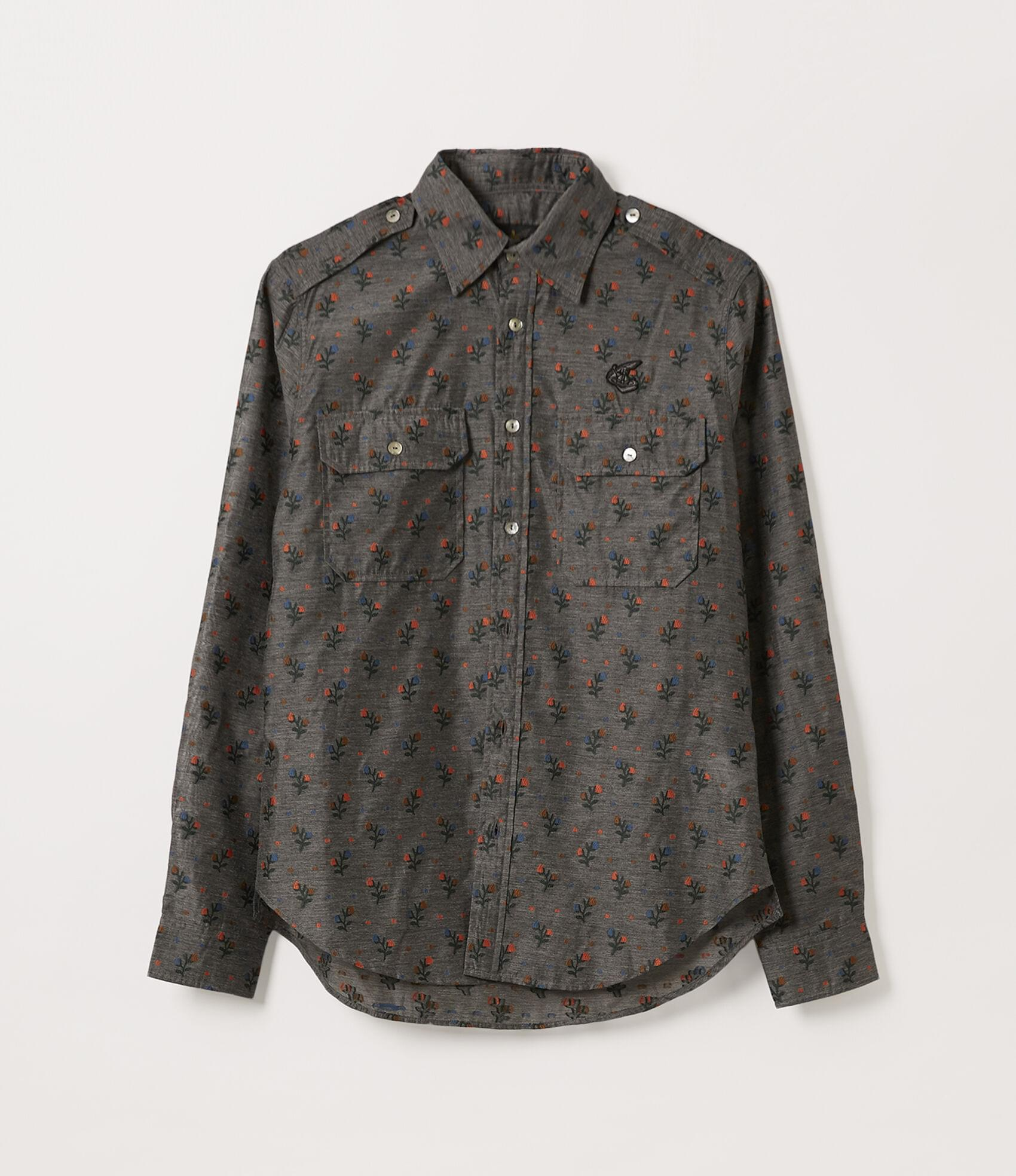 Vivienne Westwood NEW ARMY SHIRT GREY