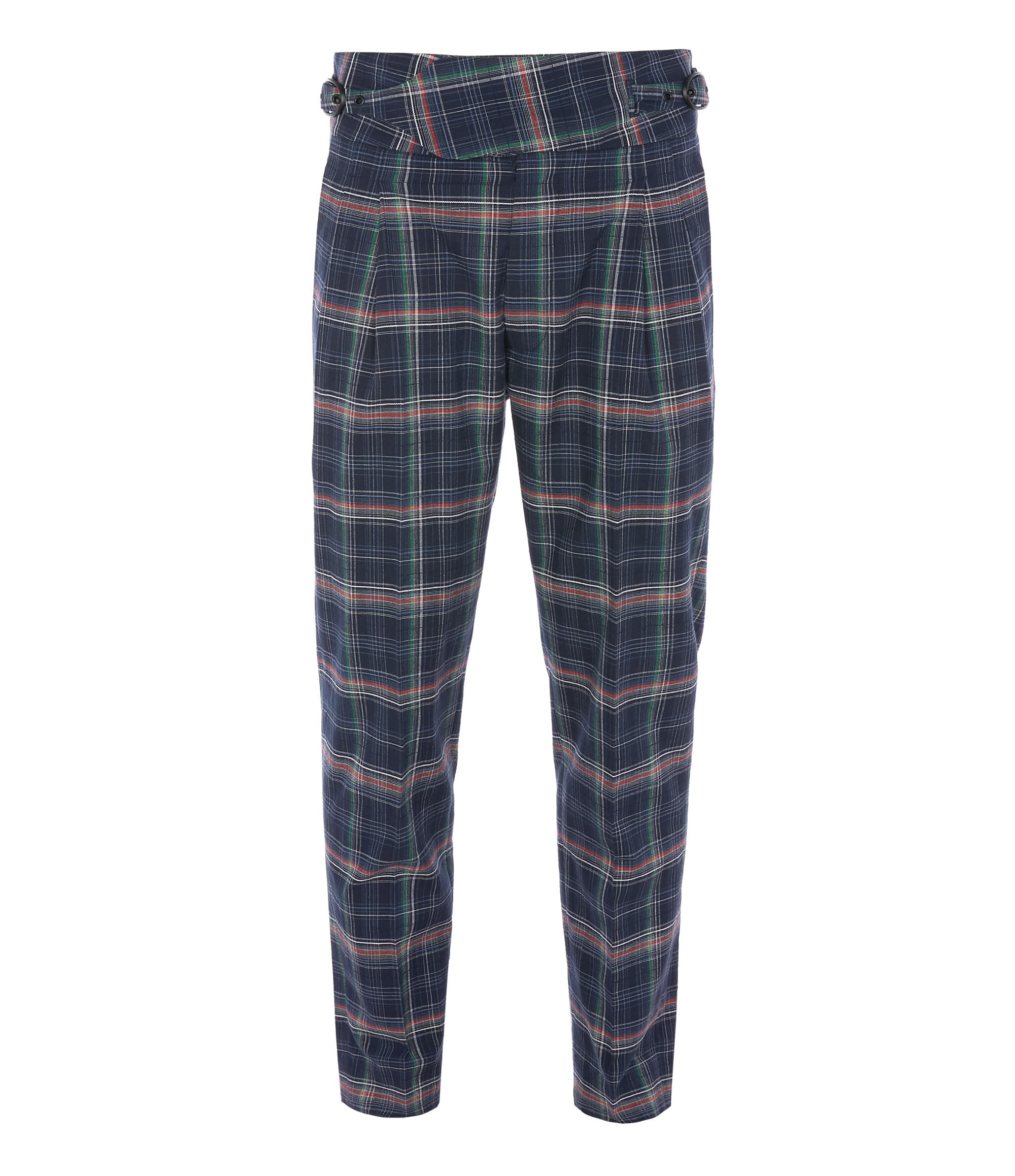 Vivienne Westwood New Classic Trousers Navy Check
