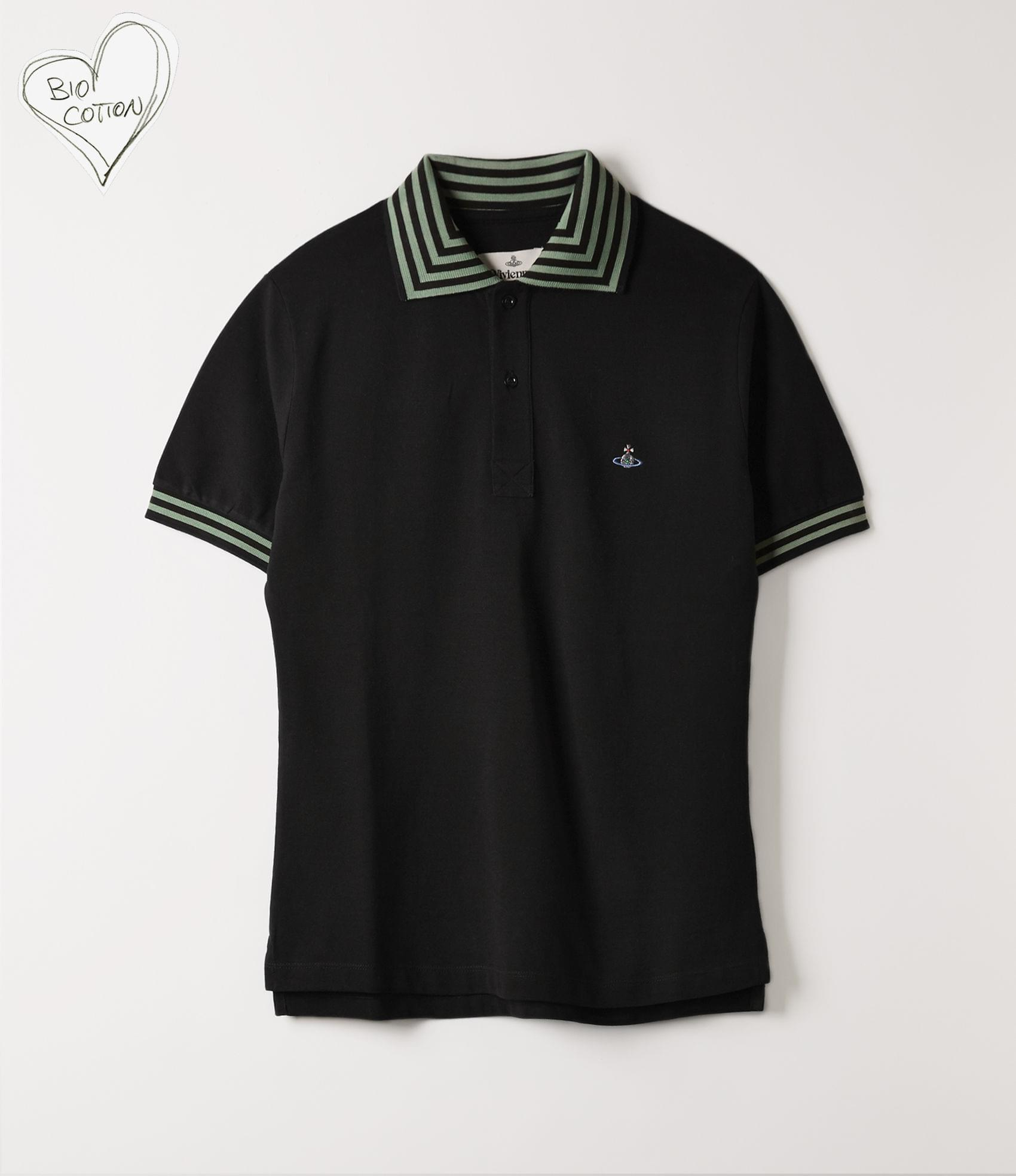 Vivienne Westwood NEW POLO SHORT SLEEVE BLACK