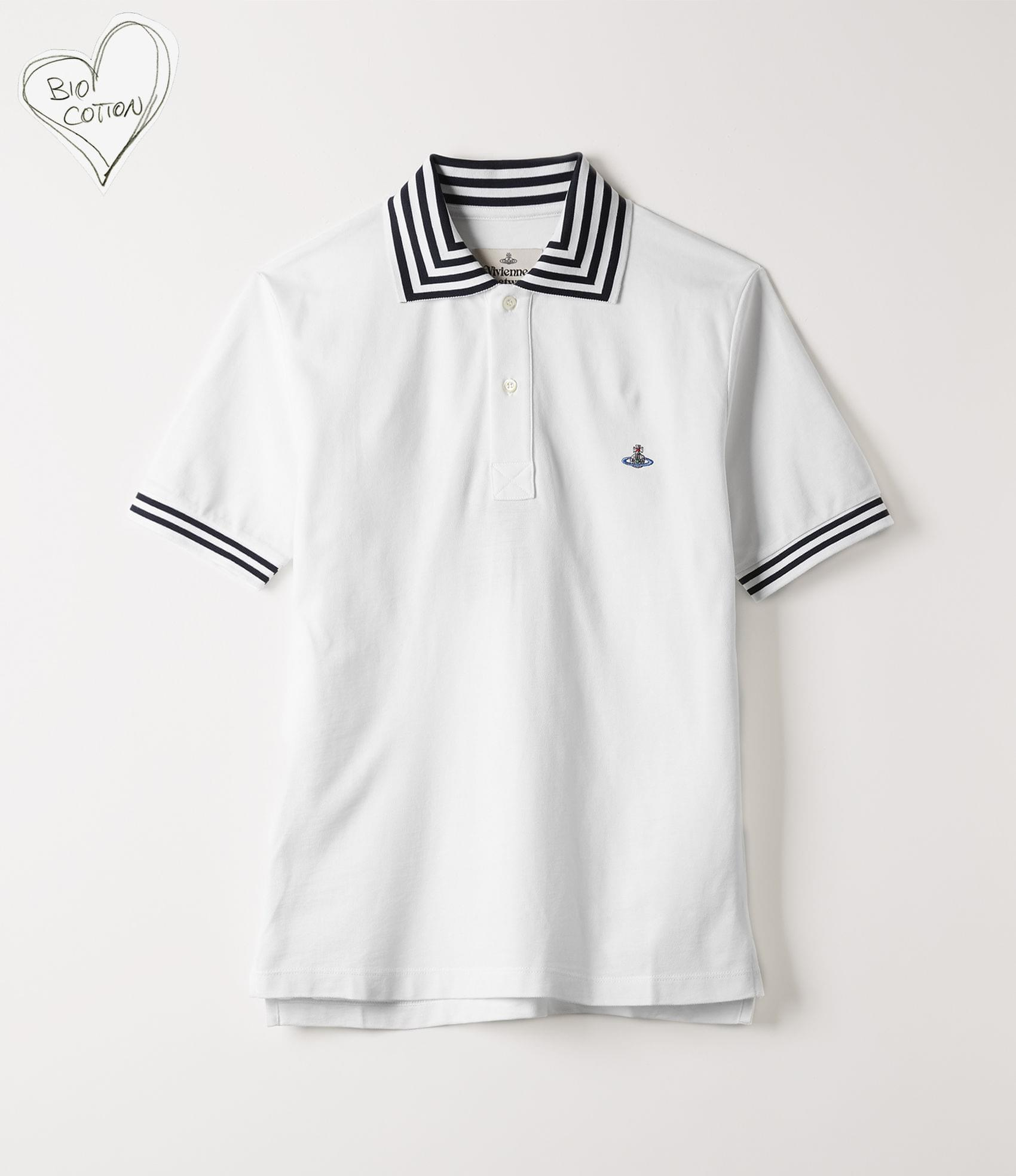 Vivienne Westwood NEW POLO SHORT SLEEVE WHITE