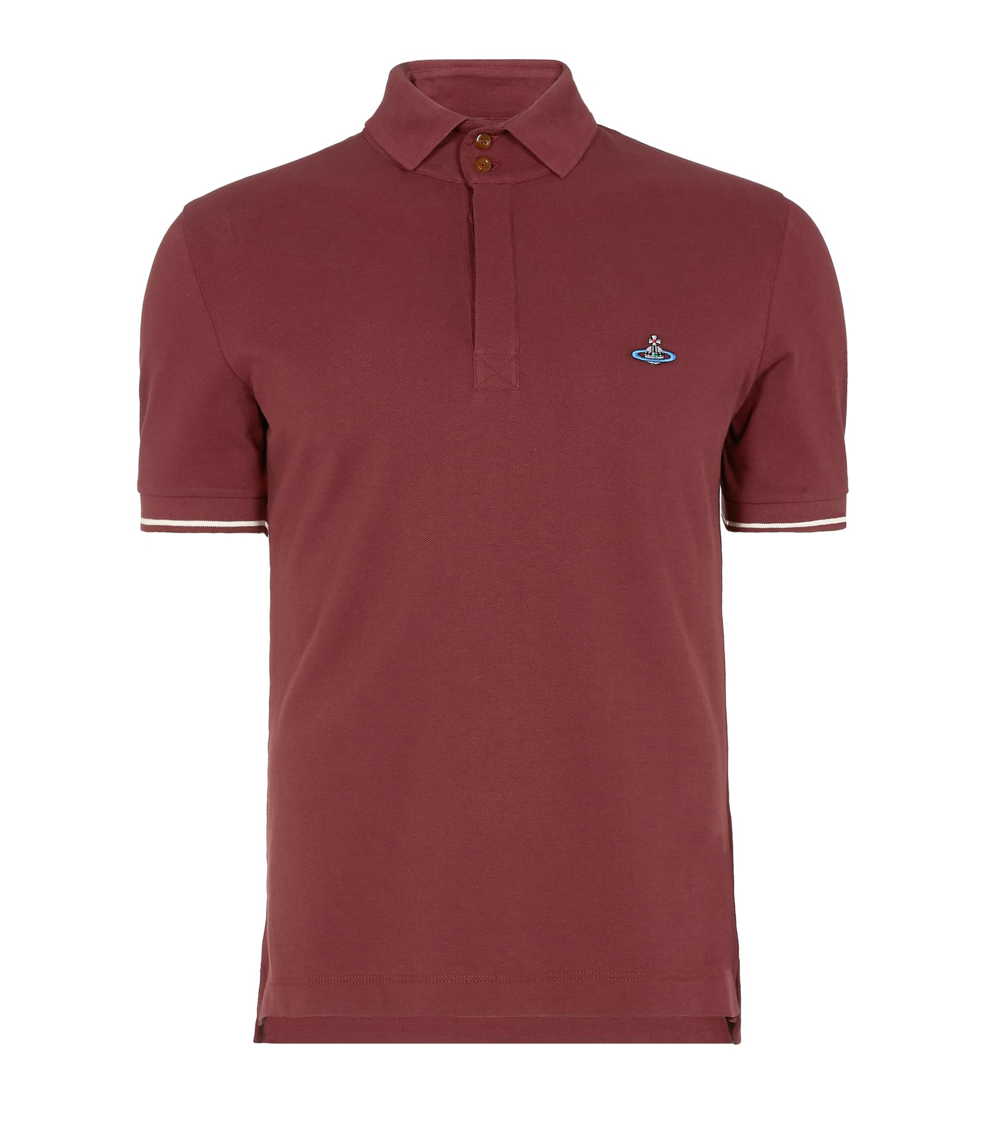 Vivienne Westwood Overlock Polo Shirt Red