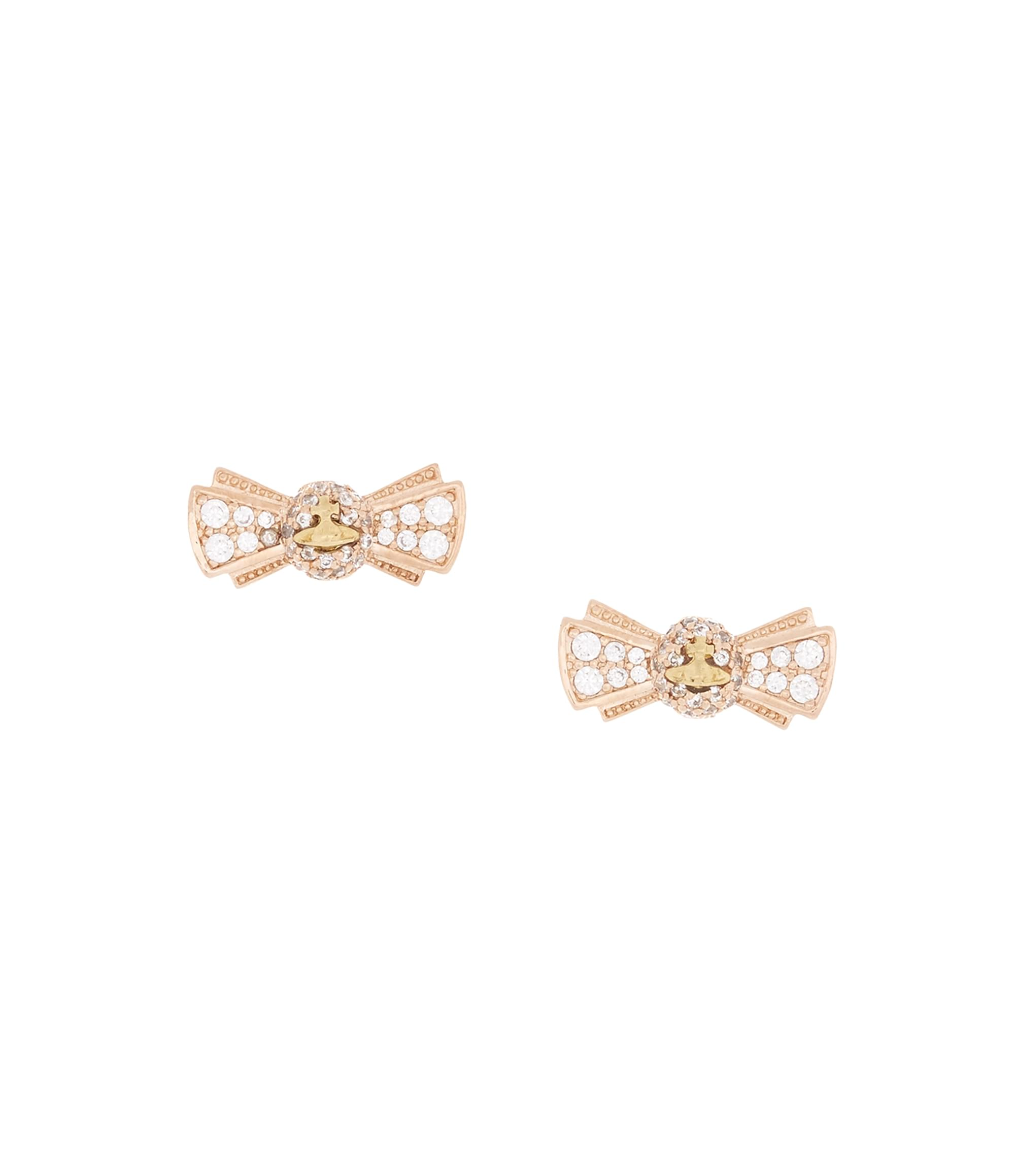 Vivienne Westwood Pamela Small Earrings Pink Gold