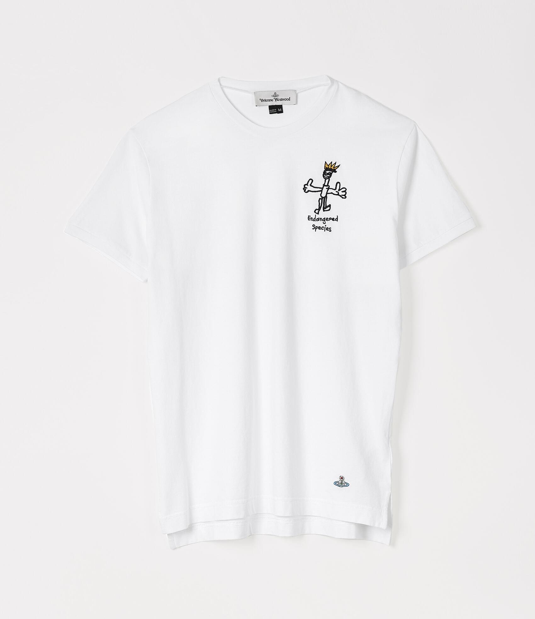 Vivienne Westwood PERU T-SHIRT ENDANGERED SPECIES WHITE