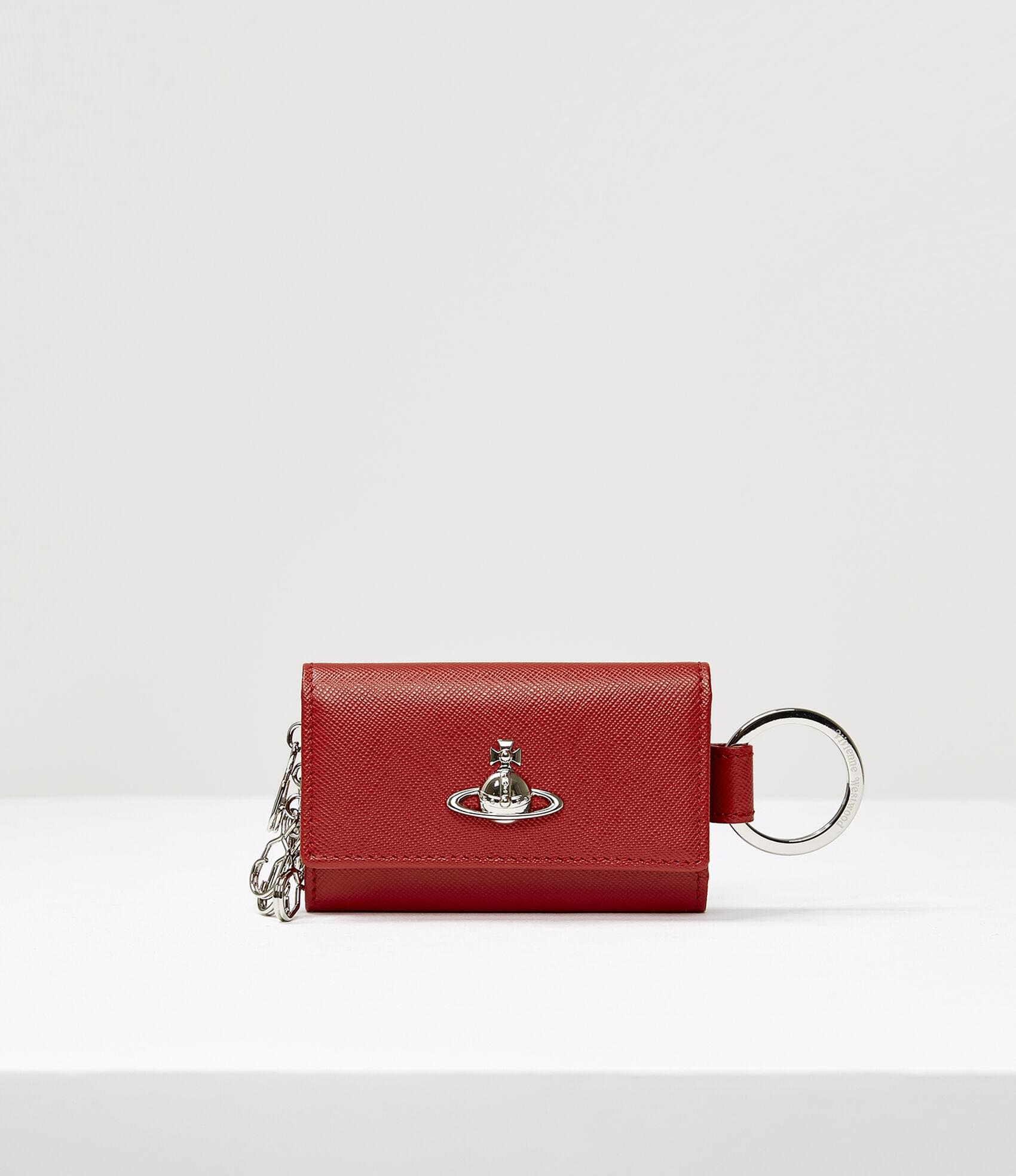 Vivienne Westwood PIMLICO KEY WALLET RED