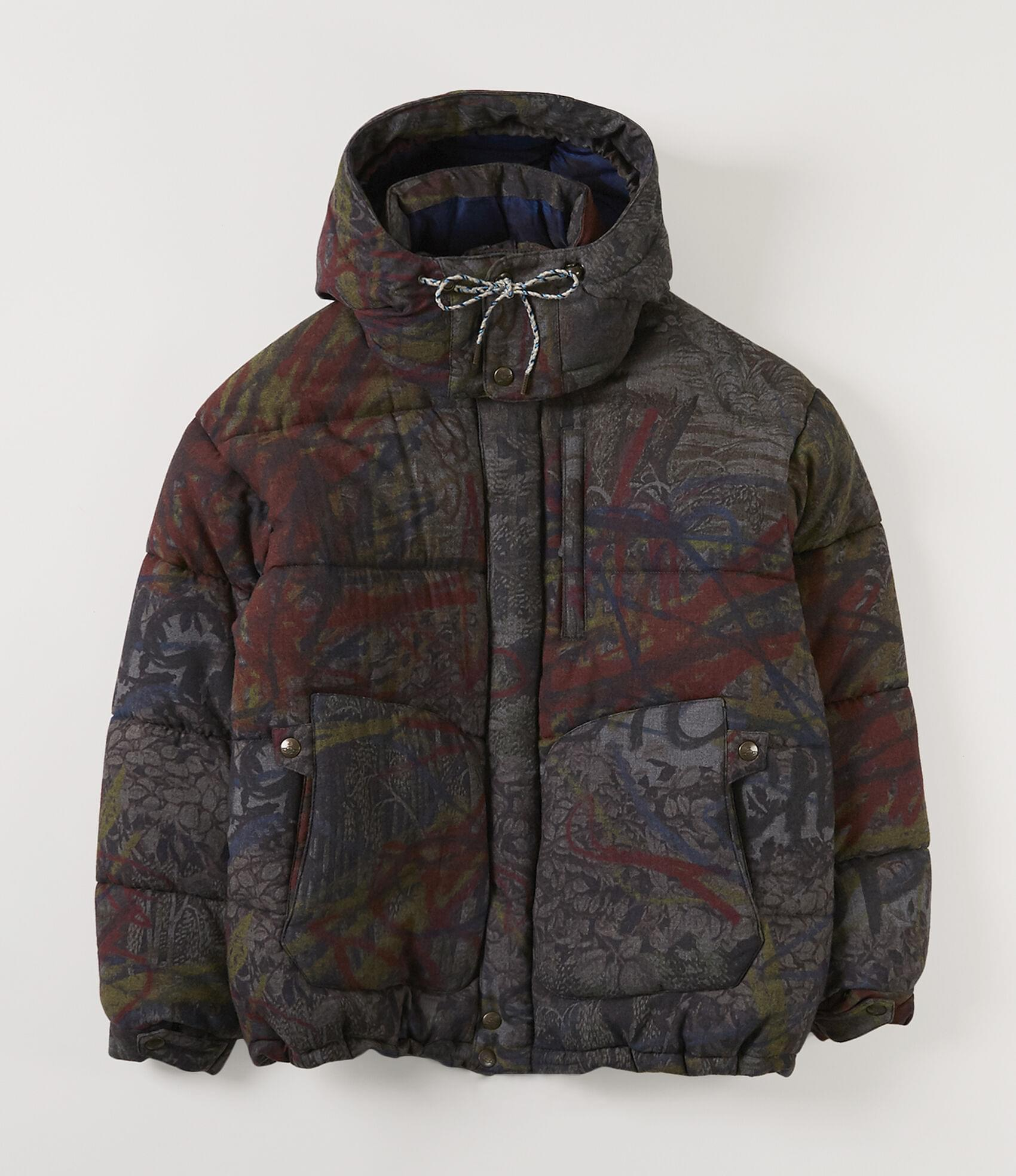 Vivienne Westwood PUFFA COAT NEW TAPESTRY HUNT FIRE