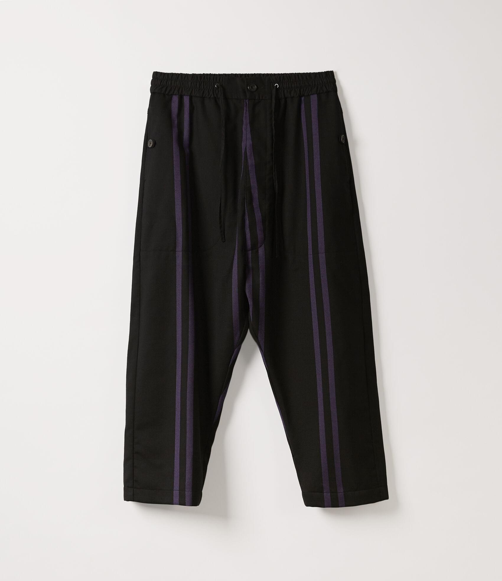 Vivienne Westwood SAMURAI TROUSERS PURPLE STRIPES