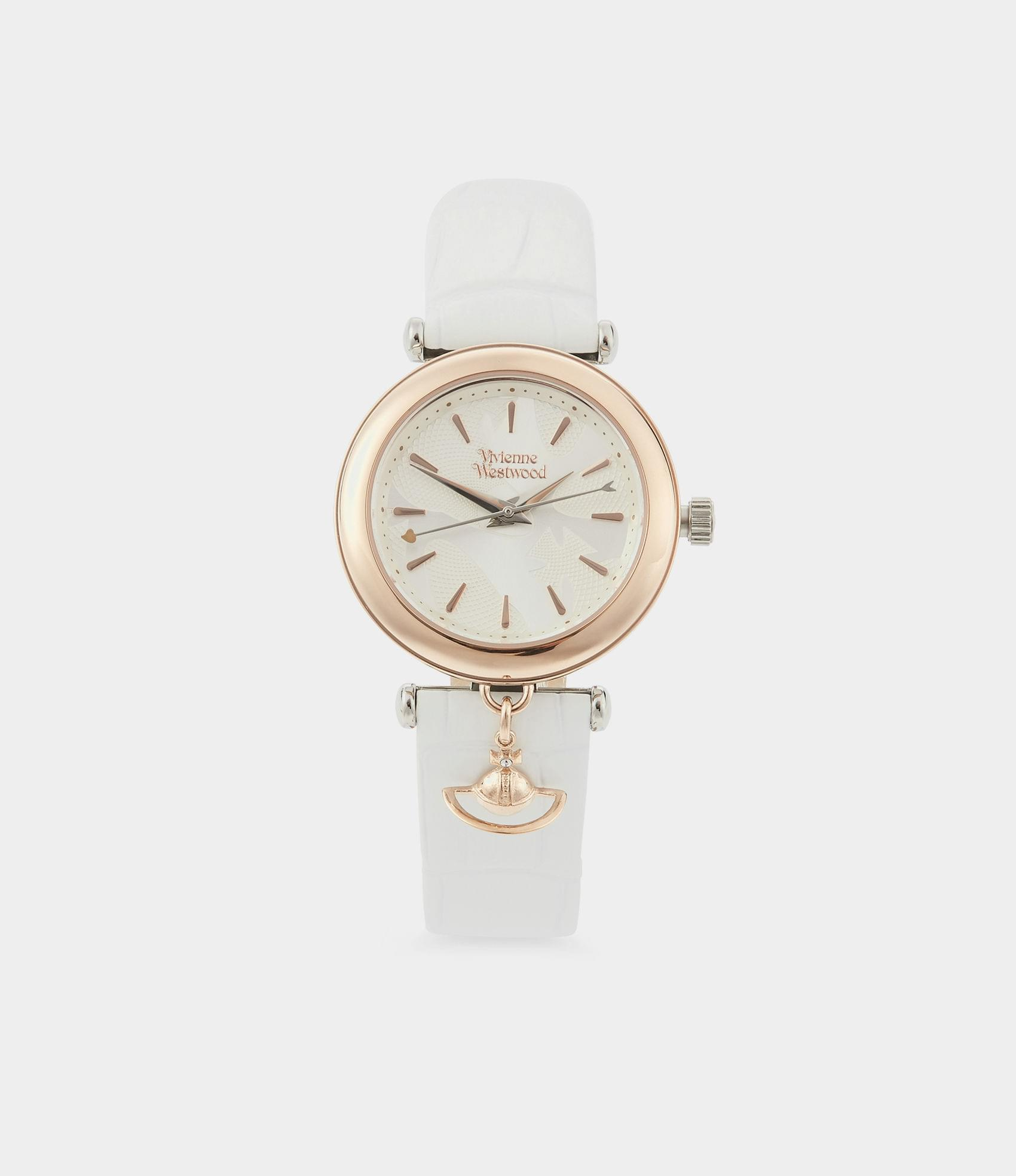 Vivienne Westwood TRAFALGAR WATCH ROSE/WHITE