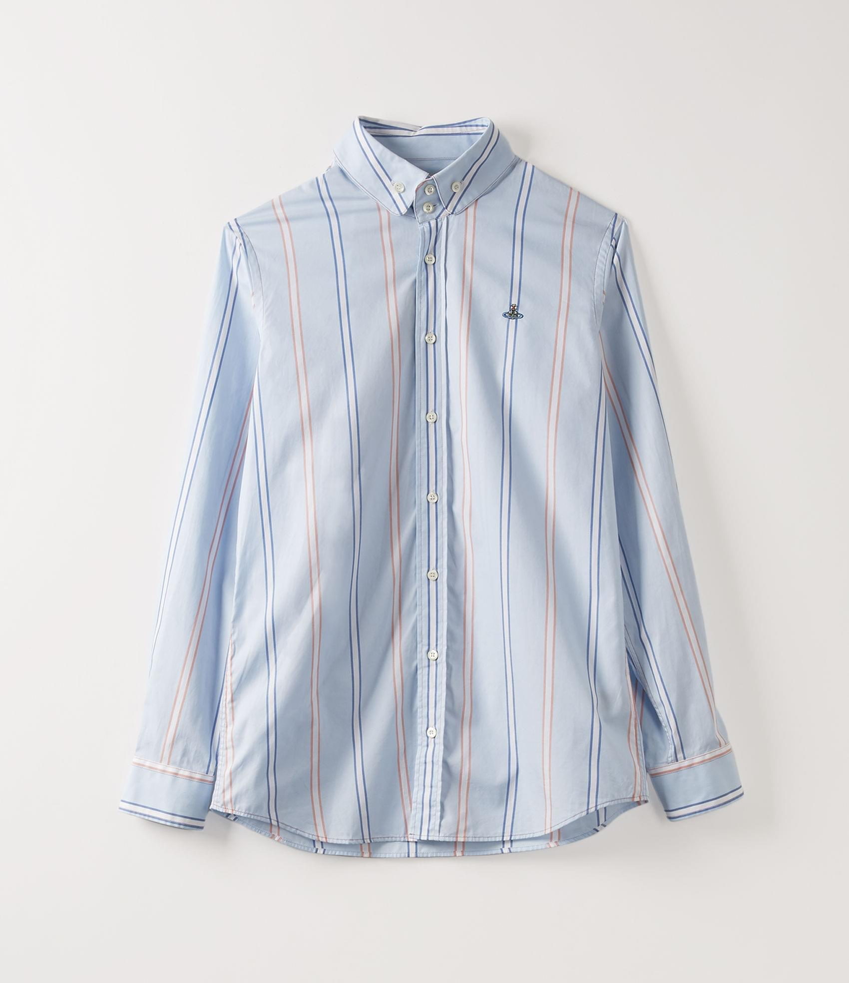 Vivienne Westwood TWO BUTTON KRALL SHIRT PYJAMA STRIPES