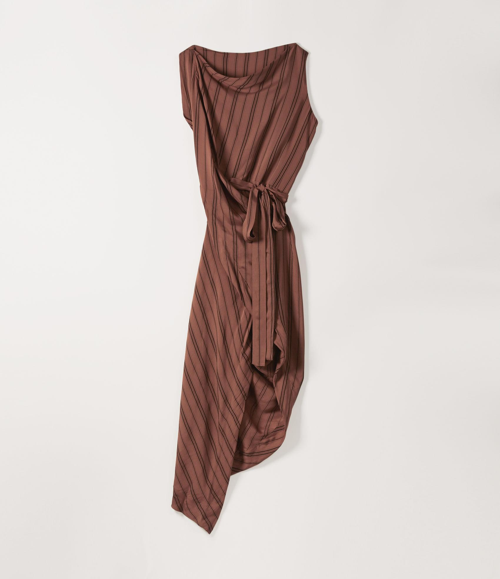 Vivienne Westwood VIAN DRESS TERRACOTTA