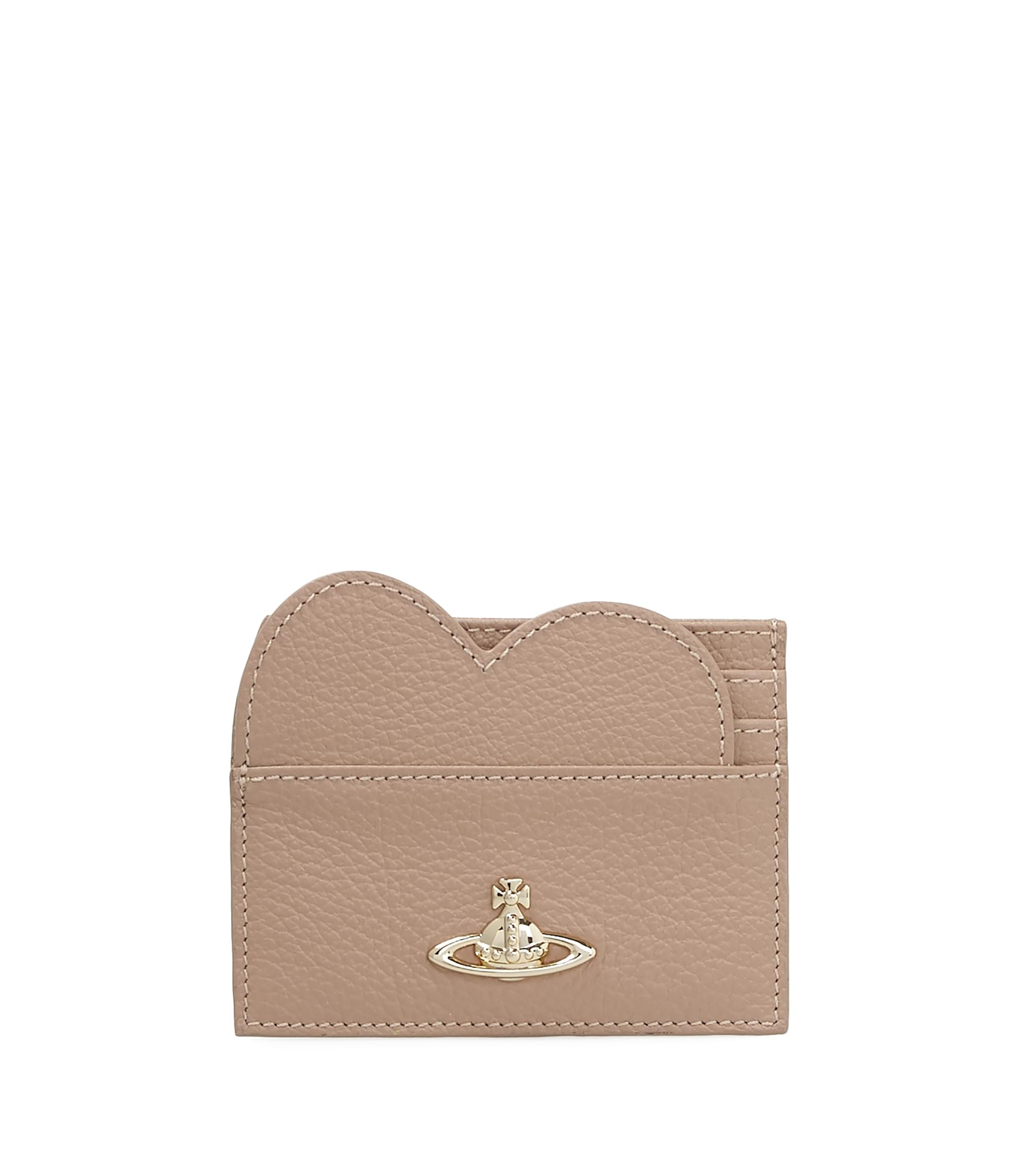 Vivienne Westwood Balmoral Heart Card Holder 321513 Beige