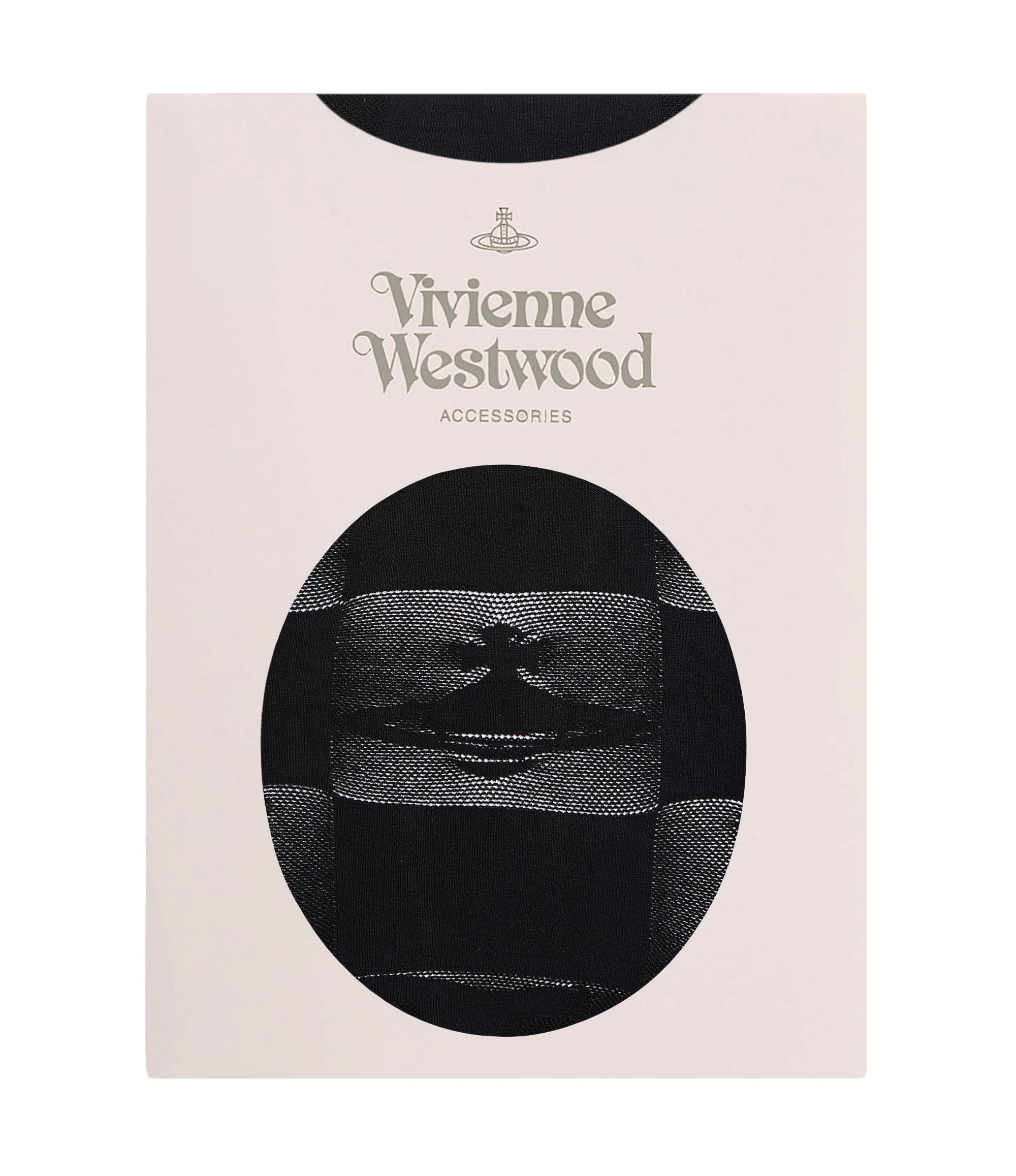 Vivienne Westwood Black Destroy Tights