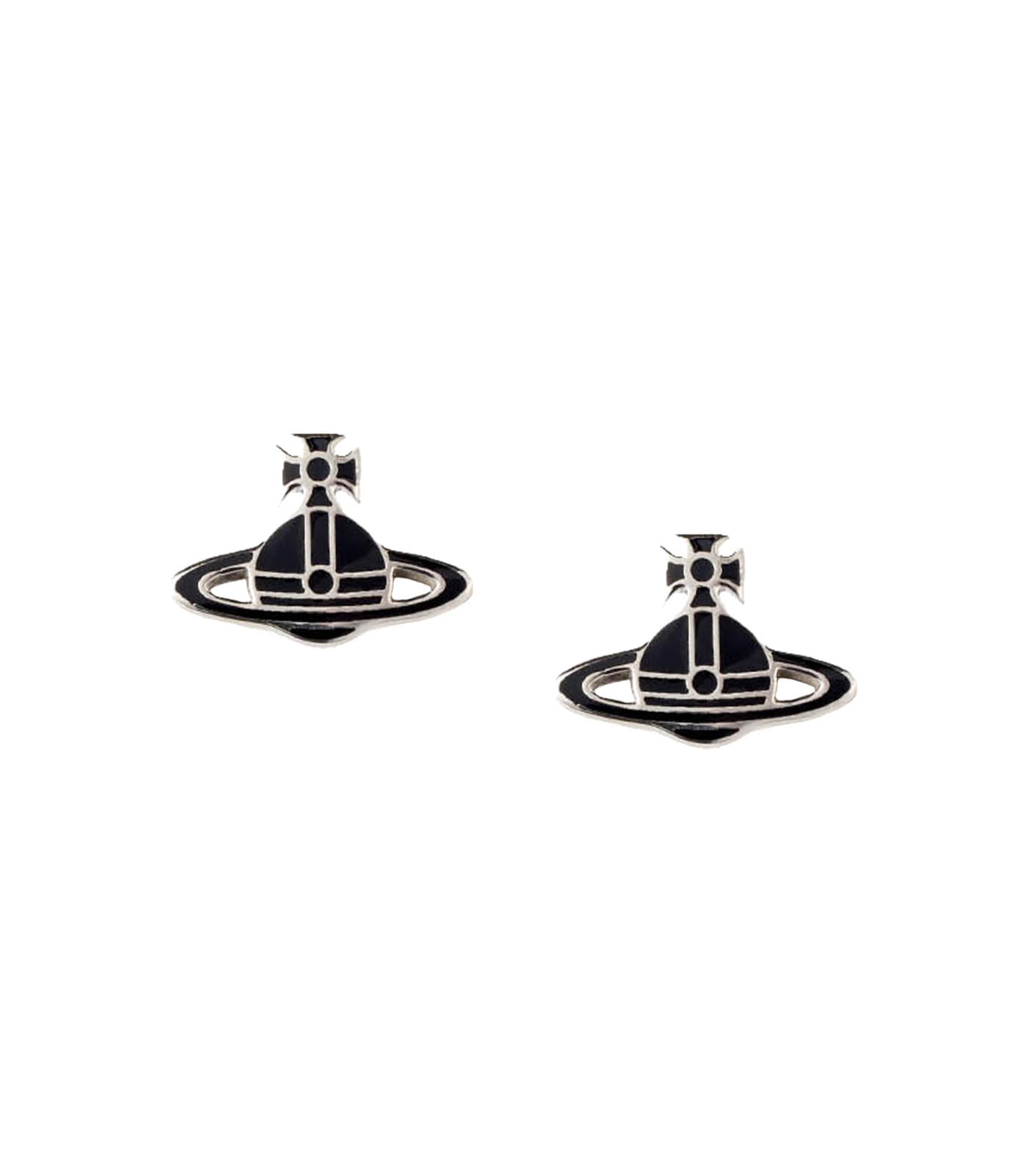 Vivienne Westwood Black Kate Earrings