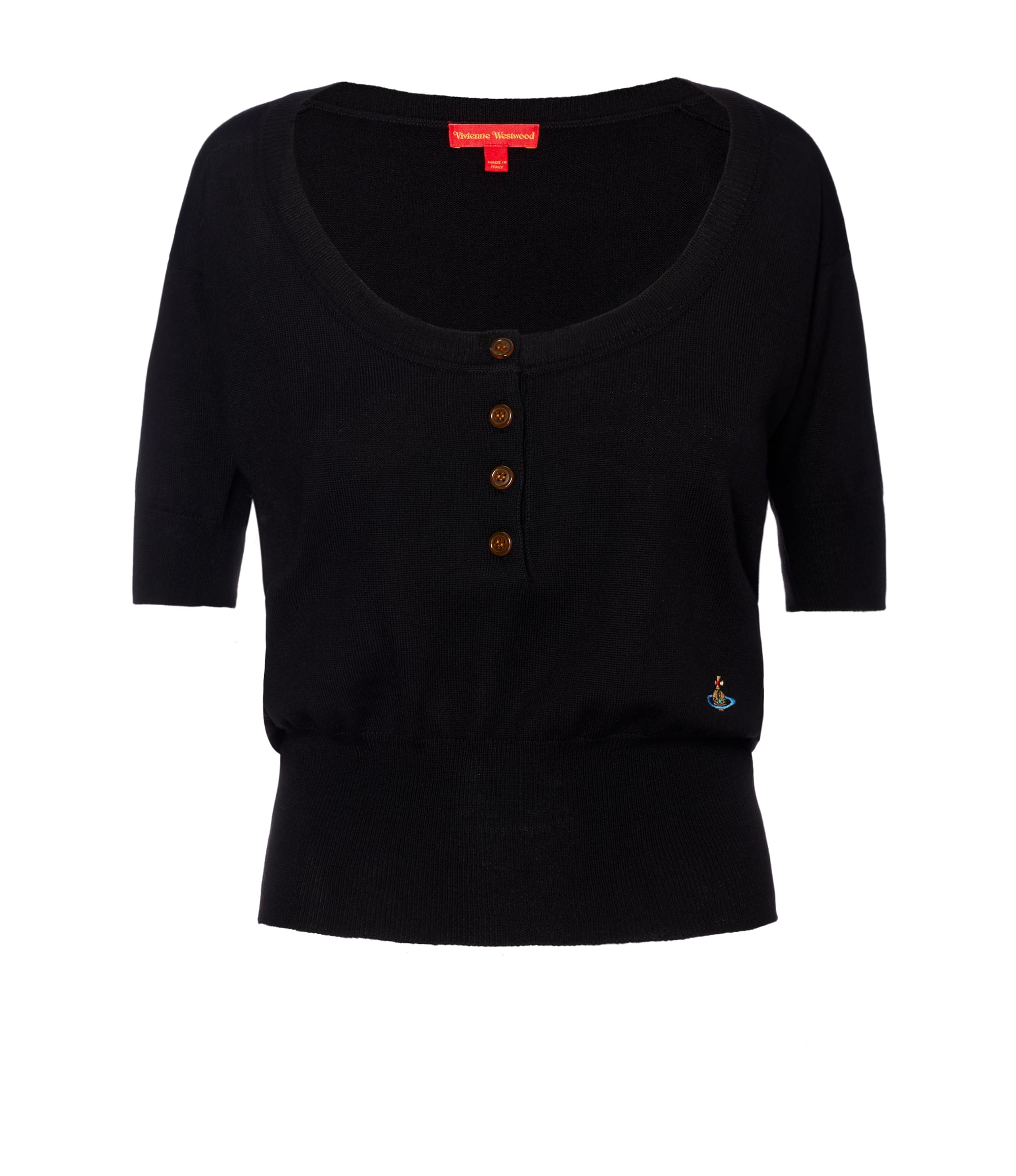 Vivienne Westwood Black La Lollo Polo