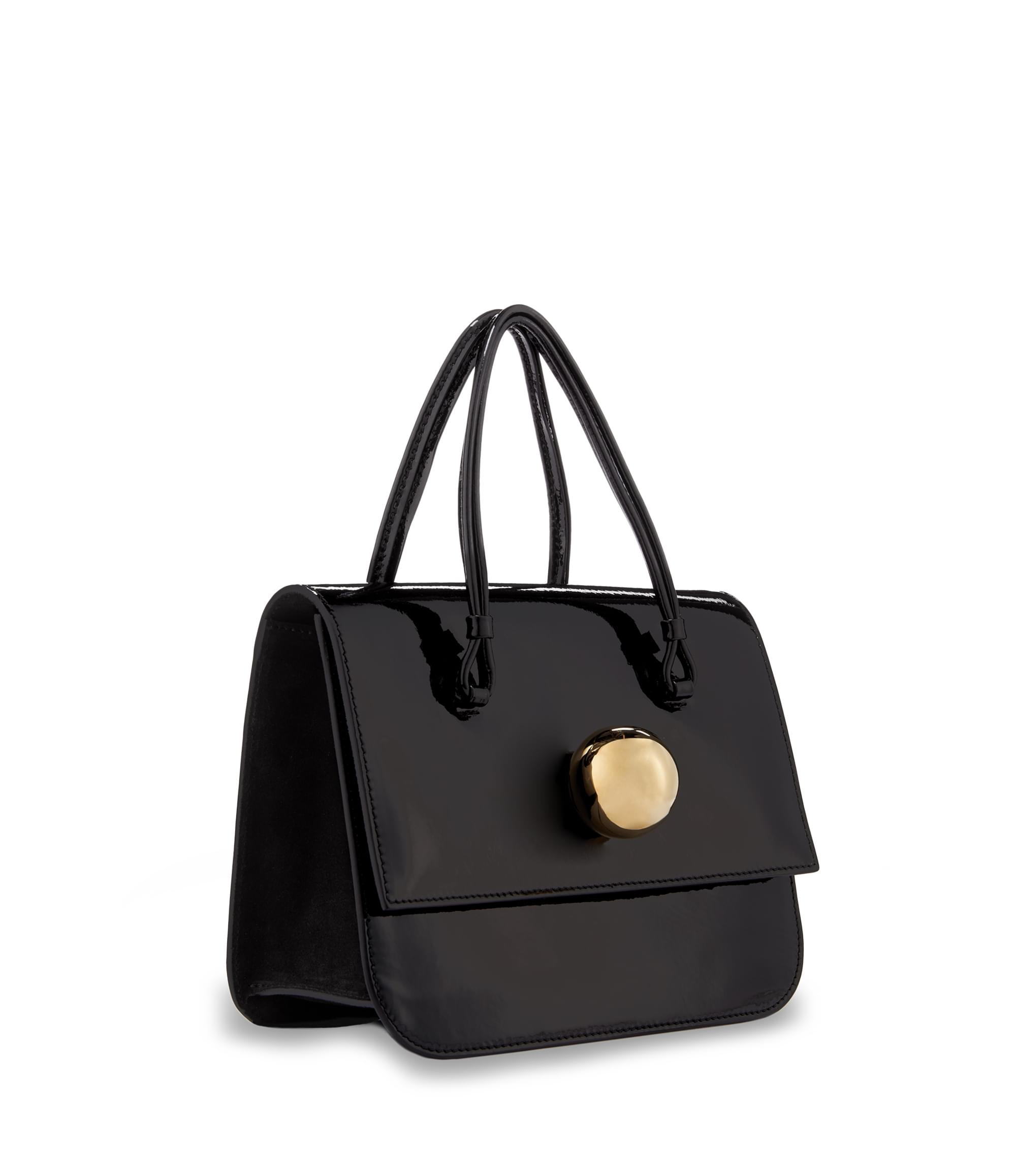Vivienne Westwood Black Mirror Ball Bag 7212
