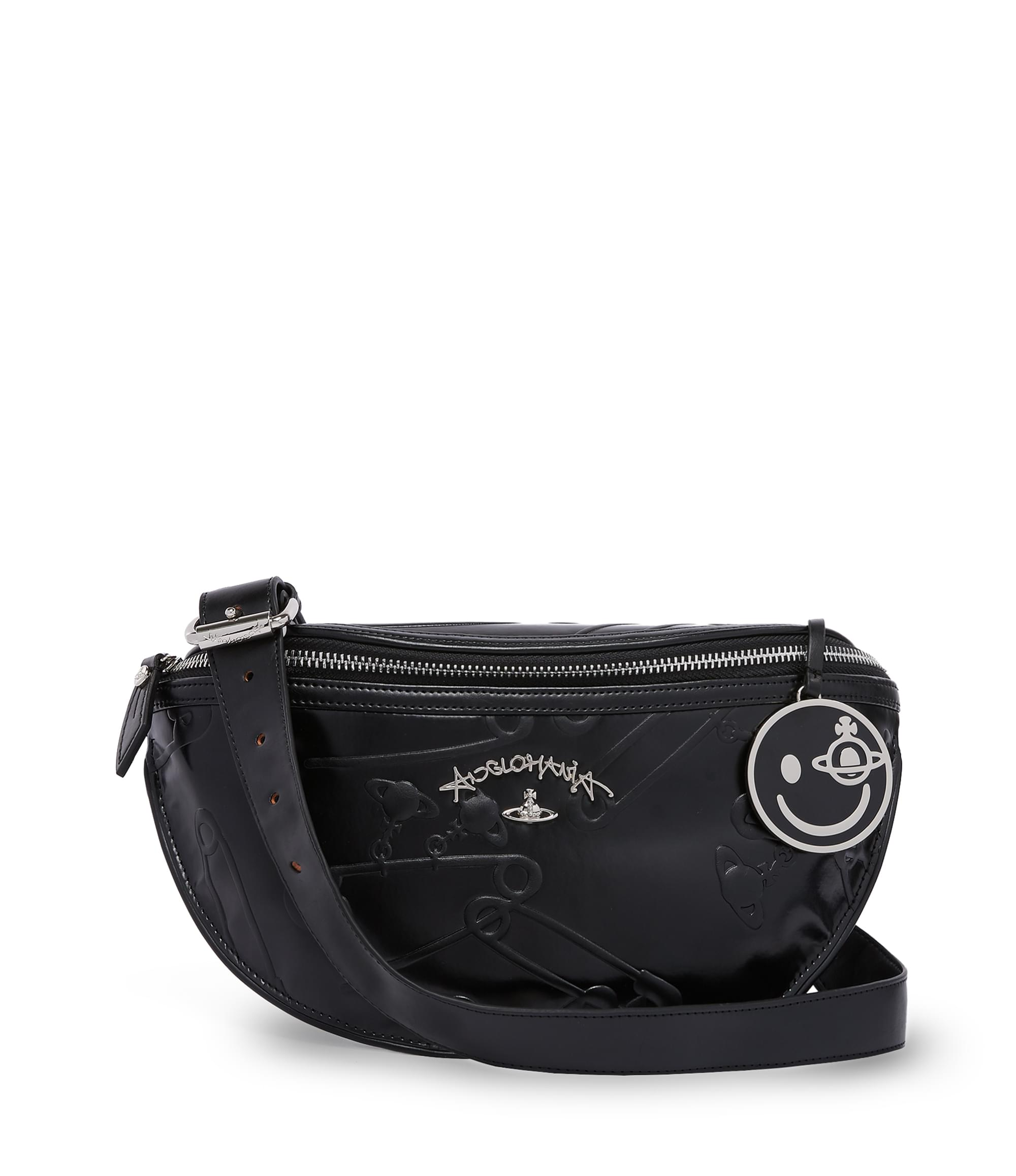 Vivienne Westwood Black Safety Pin Bum Bag 13975