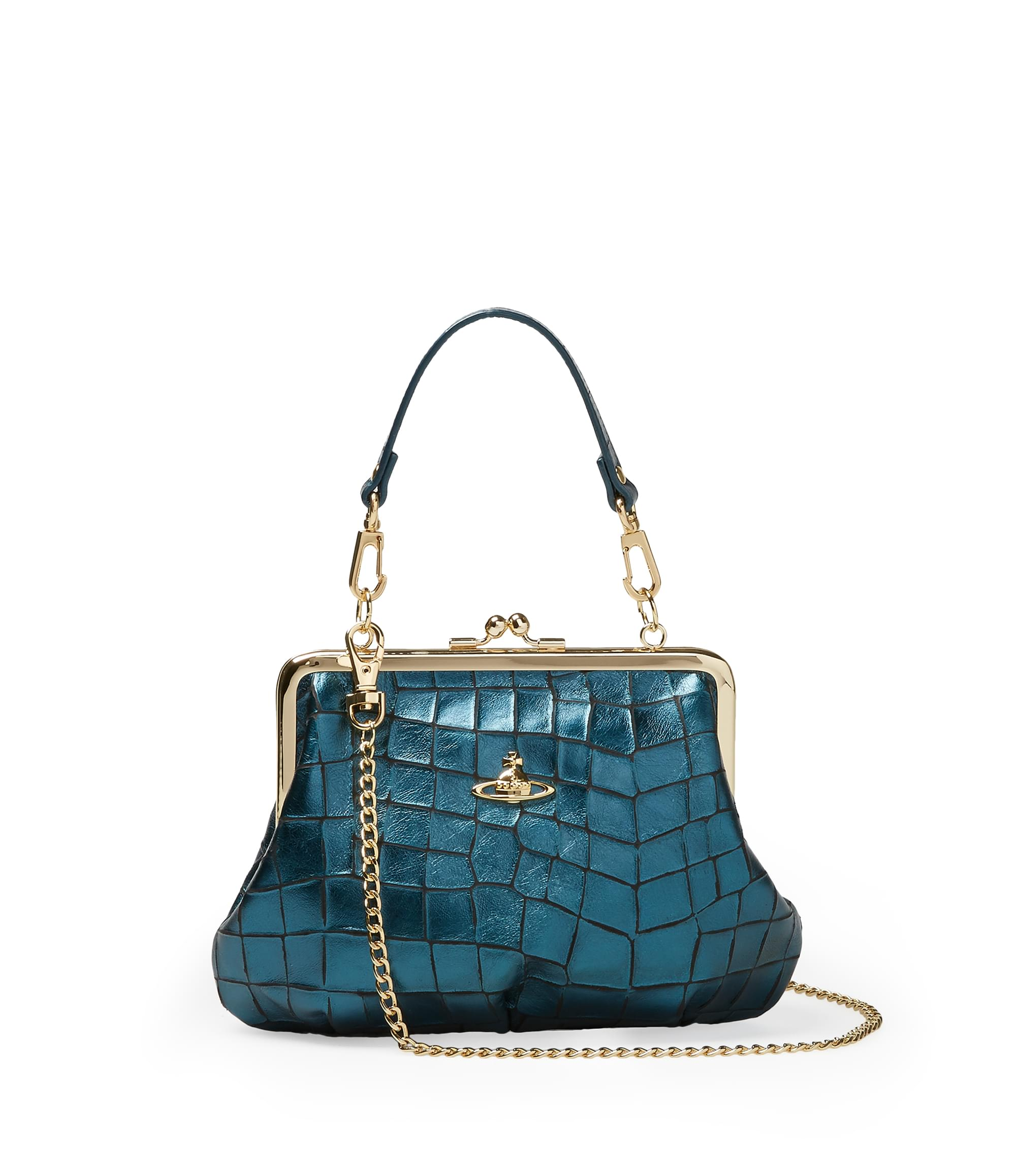 Vivienne Westwood Blue Armour Bag 3655