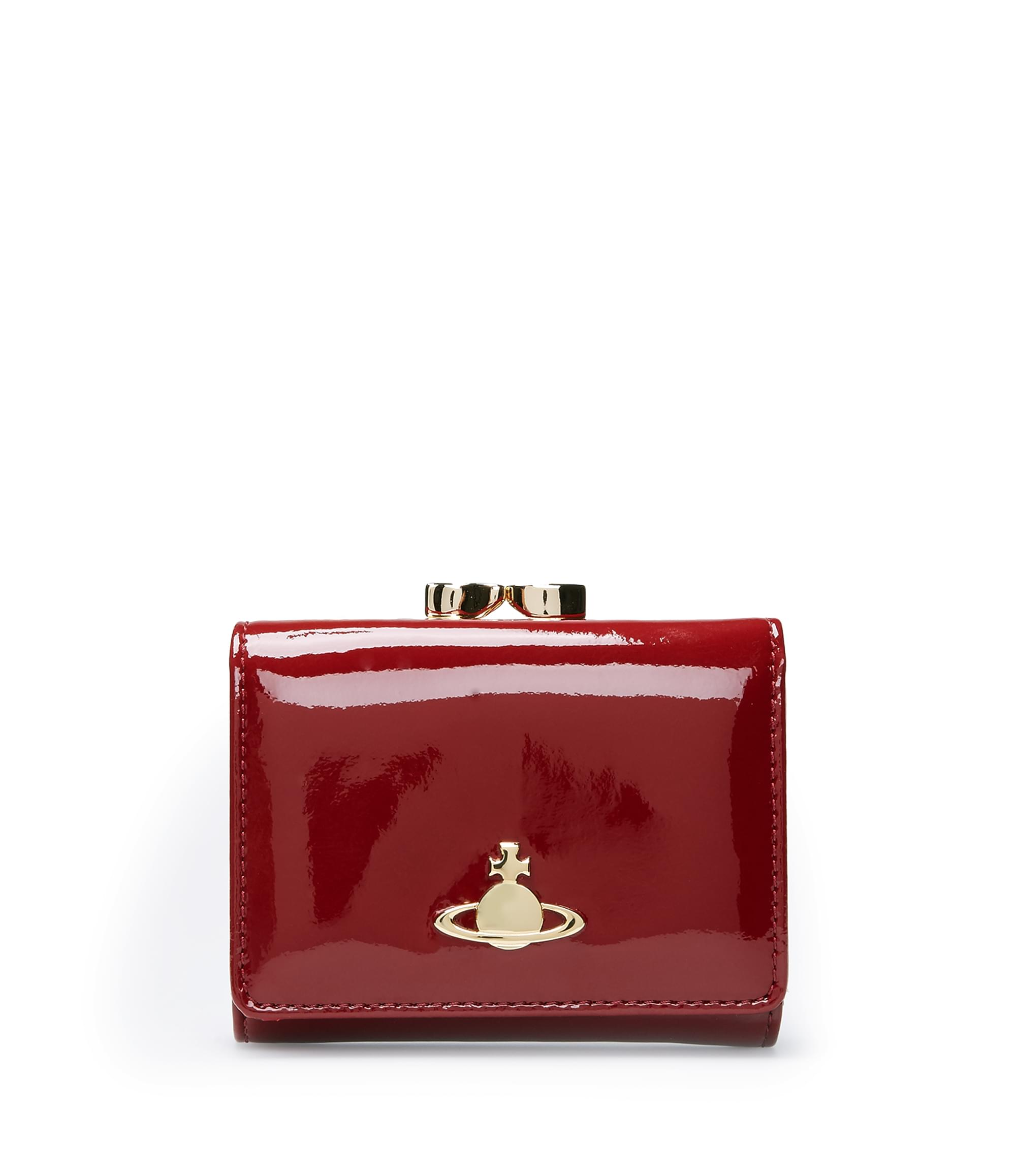 Vivienne Westwood Bordeaux Mirror Ball 1311 Purse