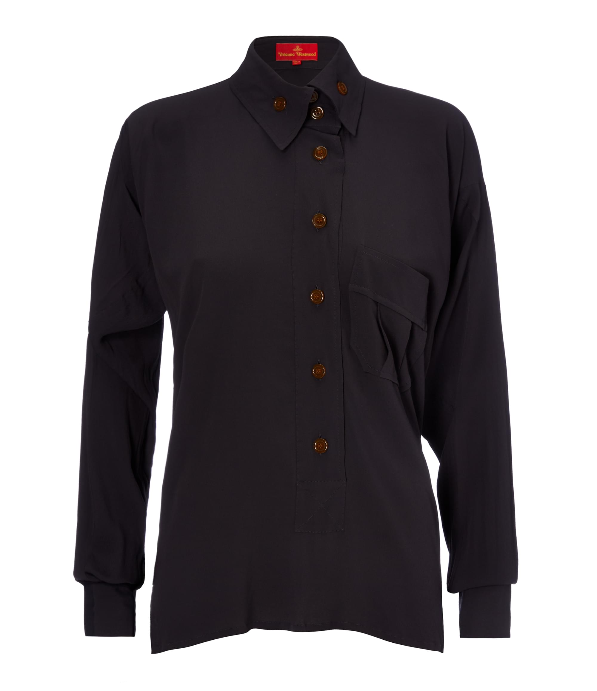 Vivienne Westwood Charcoal Squiggle Shirt