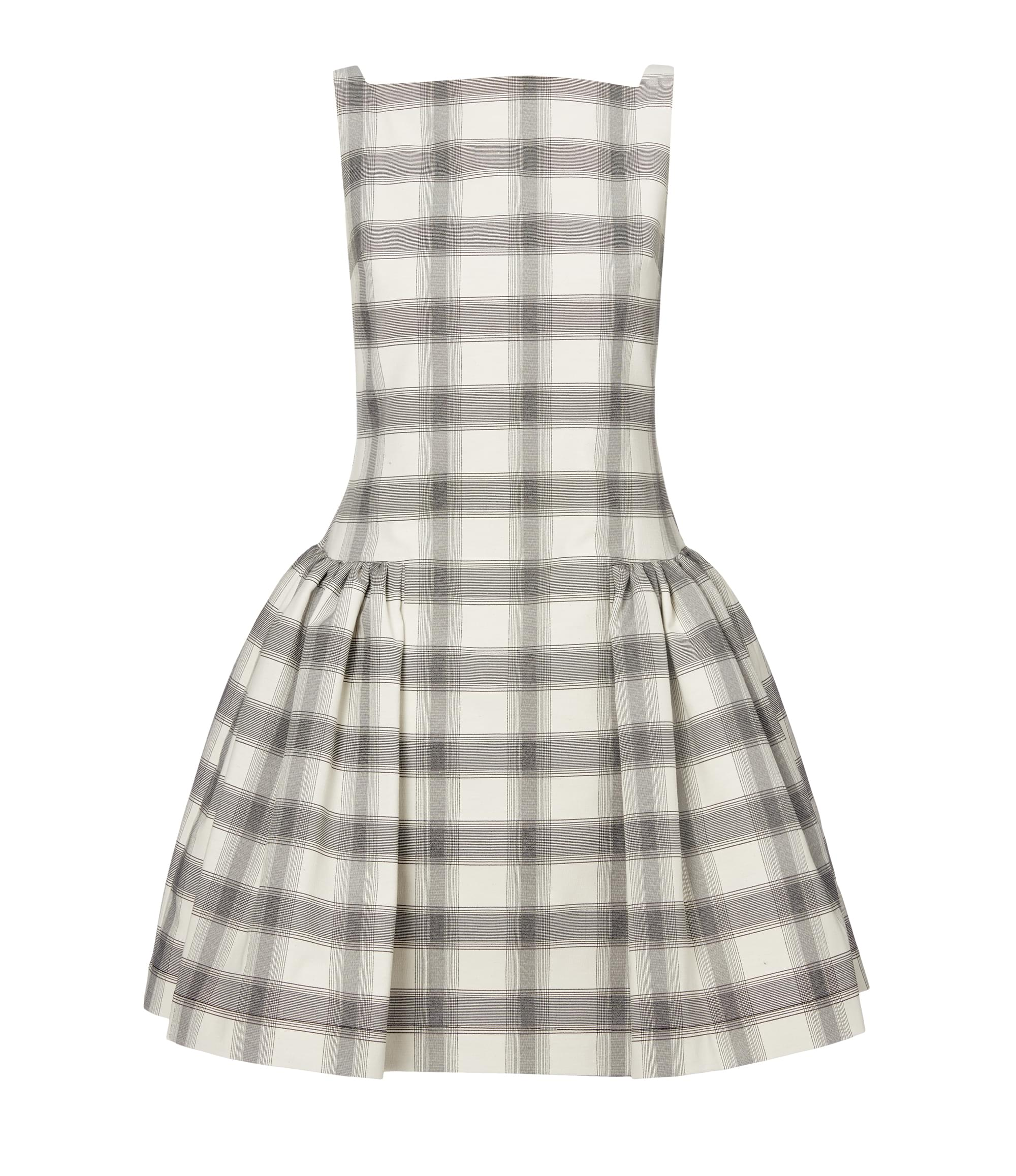 Vivienne Westwood Checked Degass Dress
