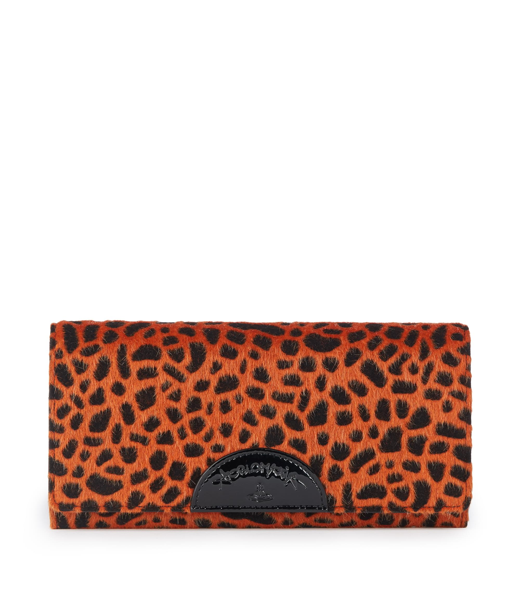 Vivienne Westwood Cheetah Wallet 51040001 Orange
