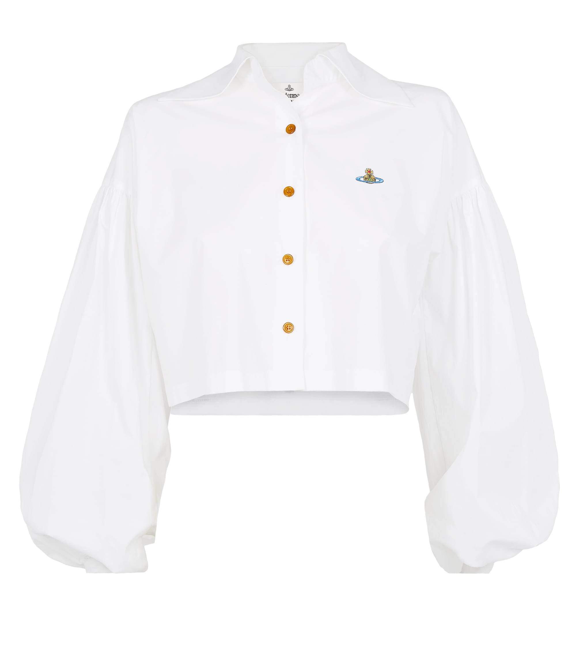 Vivienne Westwood Cropped Piano Shirt White