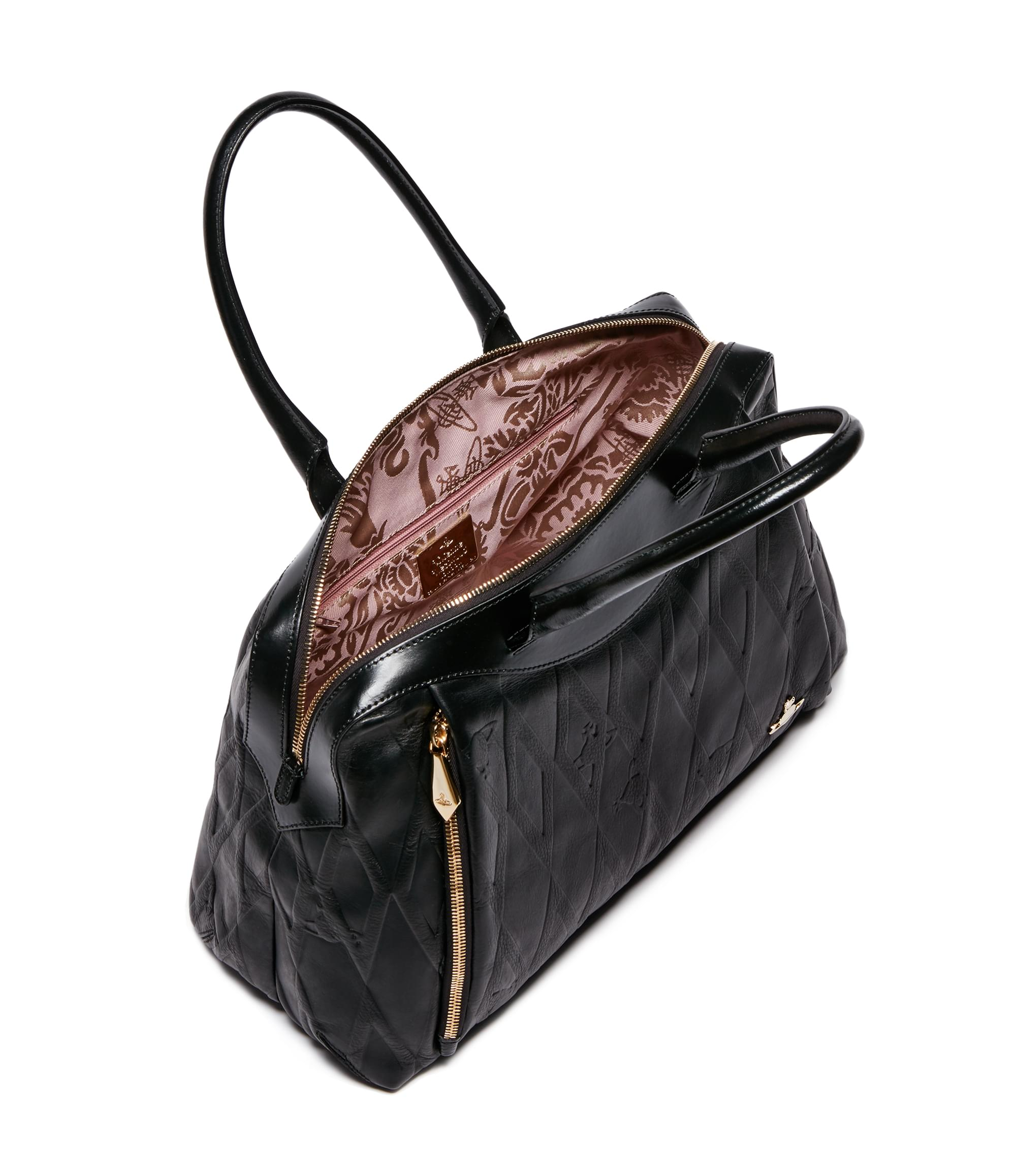 Vivienne Westwood Diamond Orb Bag 7114 Black