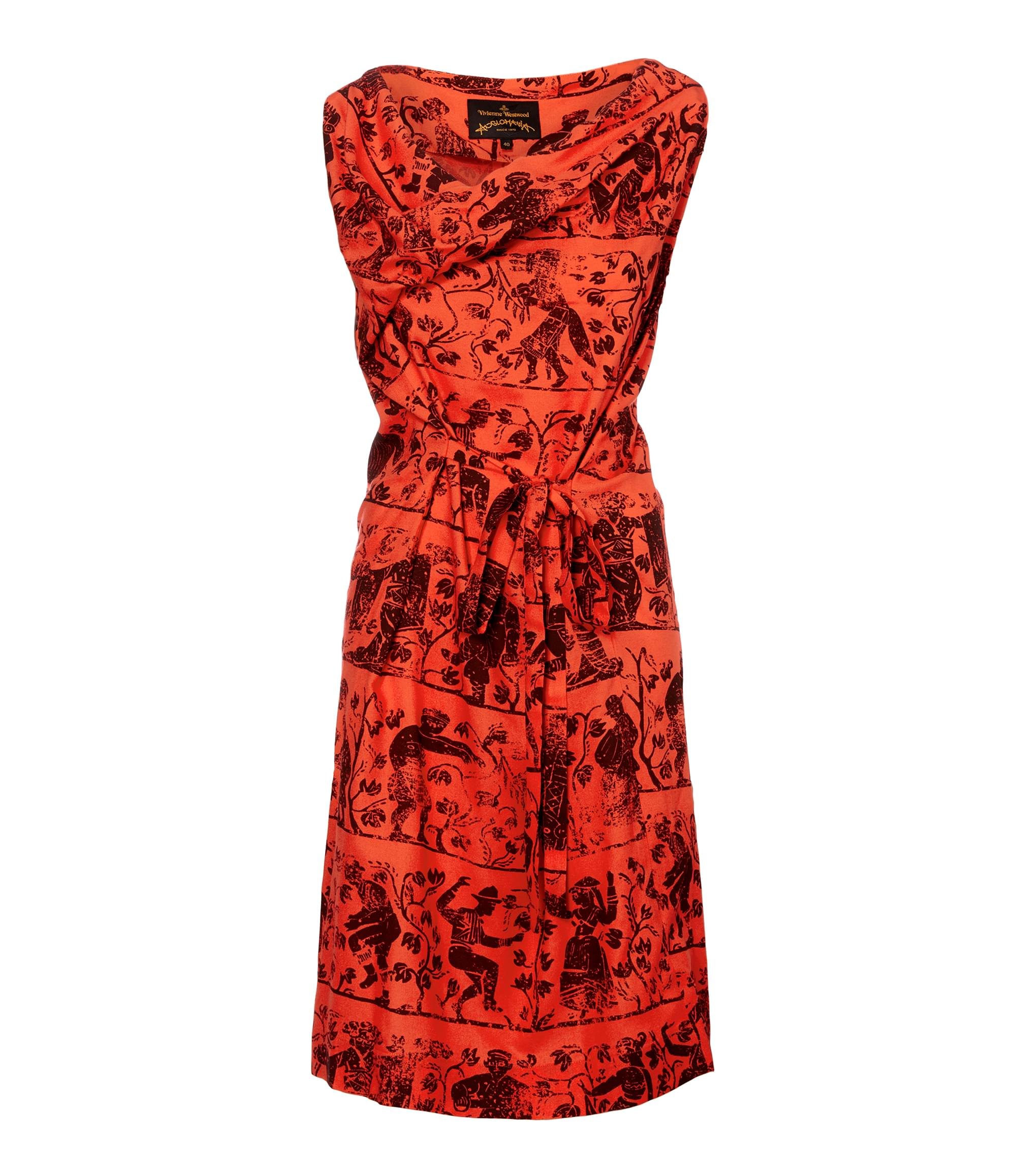 Vivienne Westwood Flame Twisted Dress