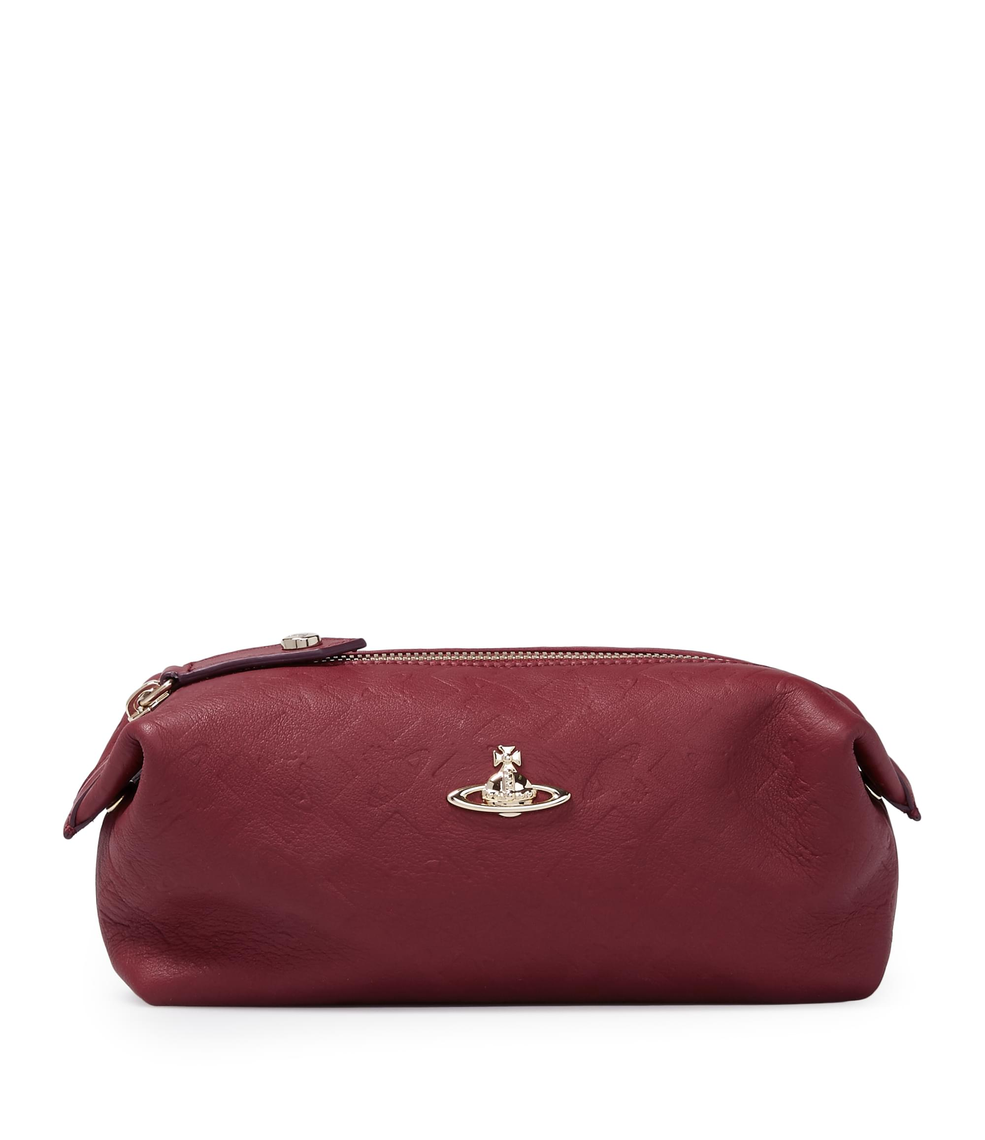 Vivienne Westwood Harrow Wash Bag 35101 Bordeaux